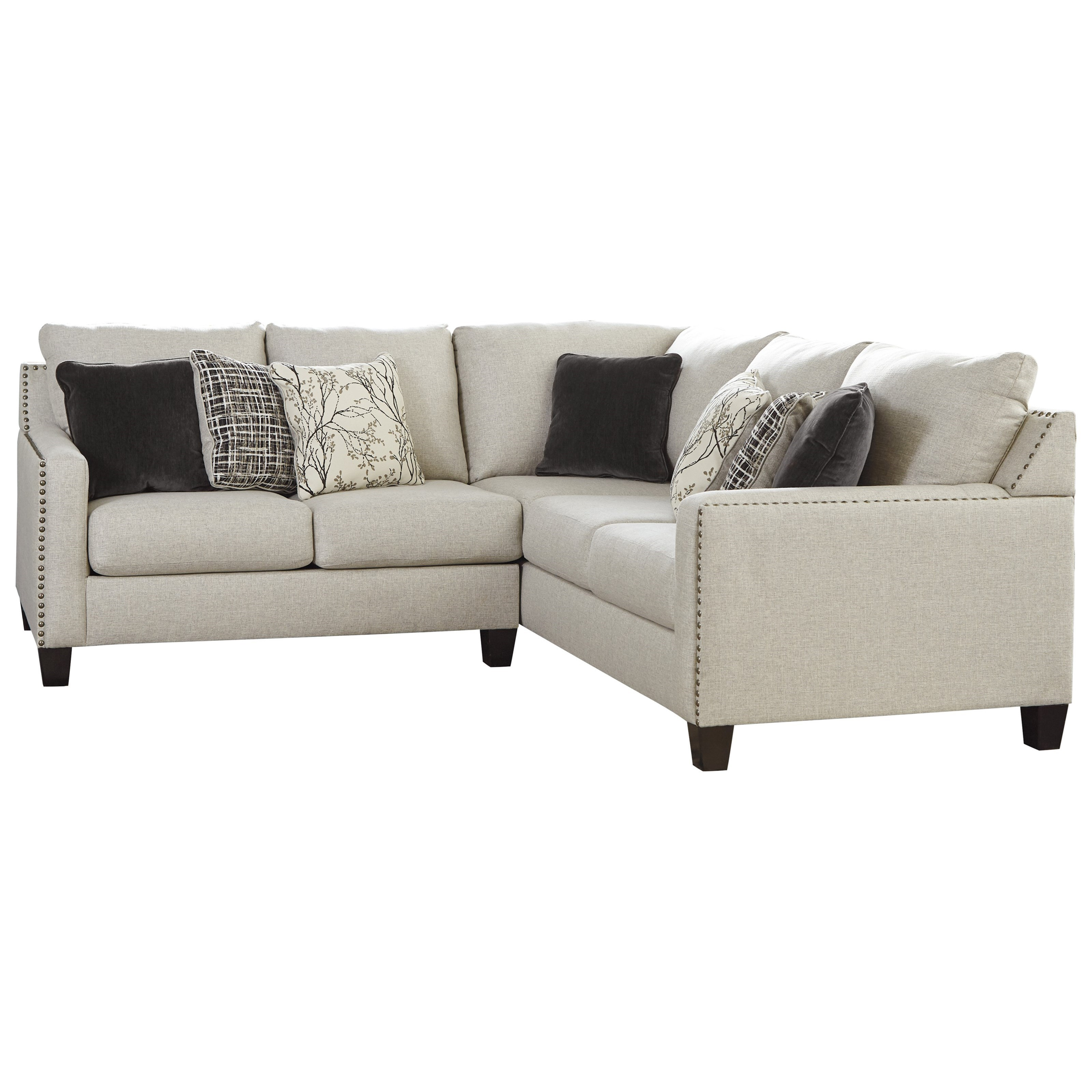 Hallenberg 2-Piece Sectional by Signature at Walker's Furniture
