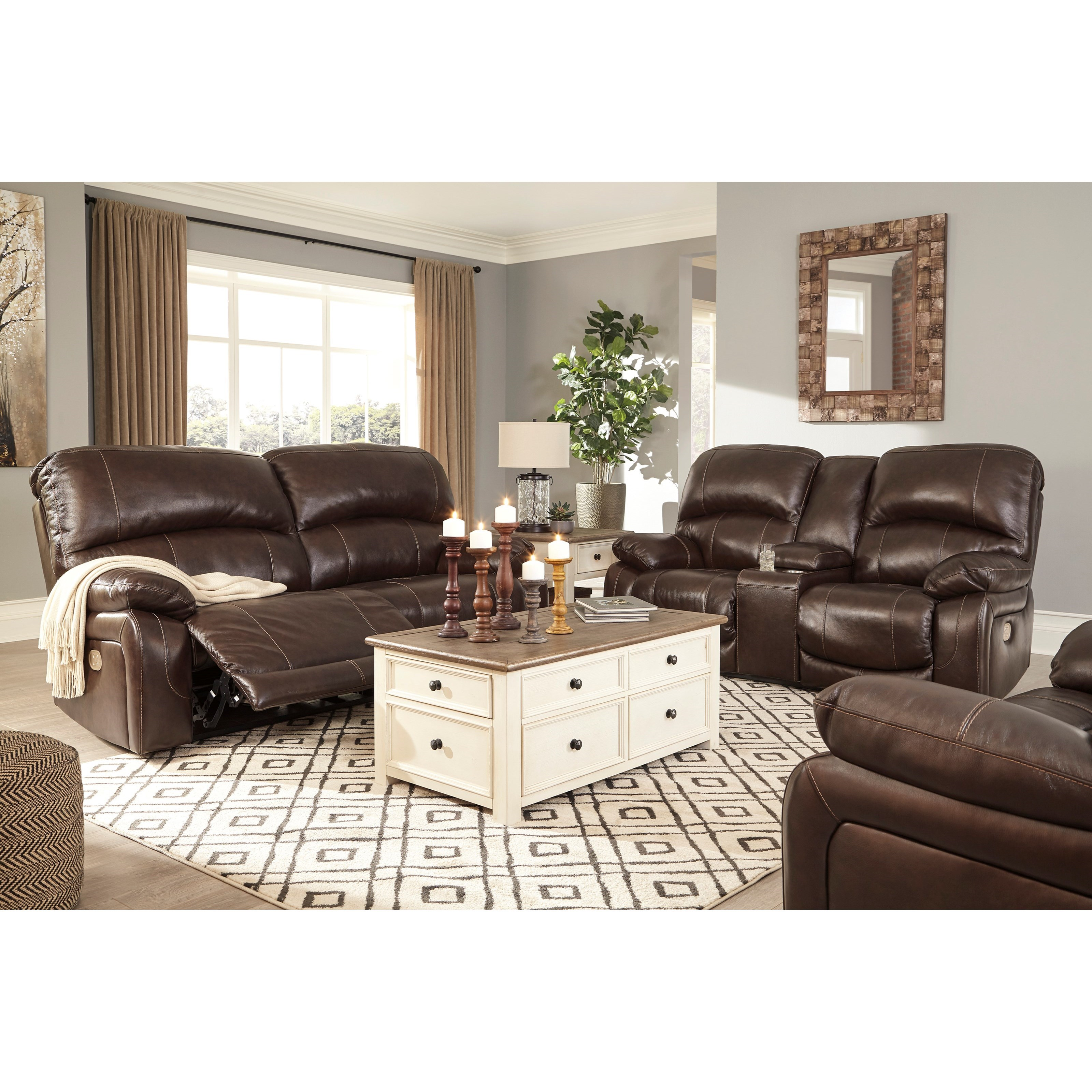 Hallstrung Power Reclining Living Room Group by Signature Design by Ashley at Value City Furniture