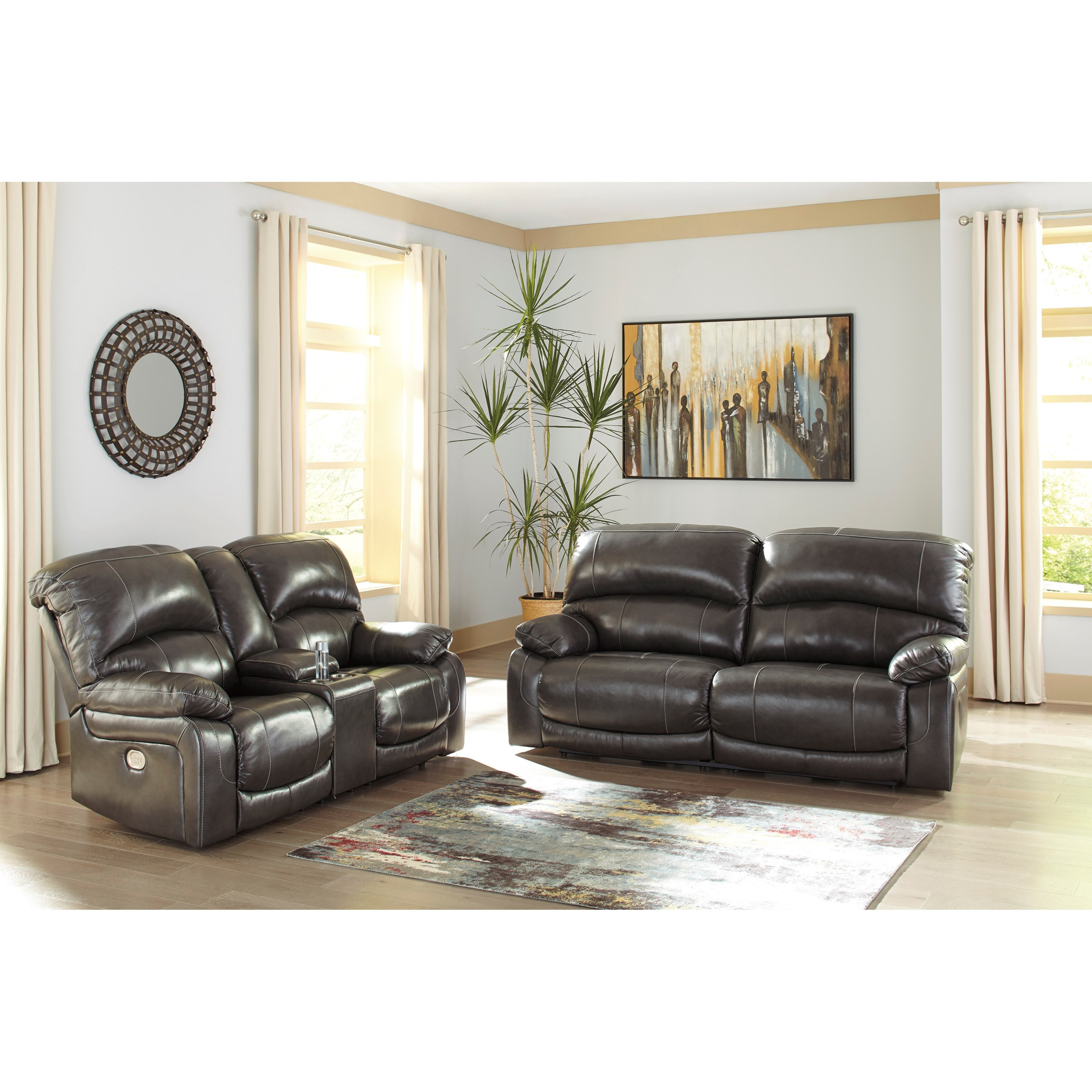 Hallstrung Power Reclining Living Room Group by Signature Design by Ashley at Northeast Factory Direct