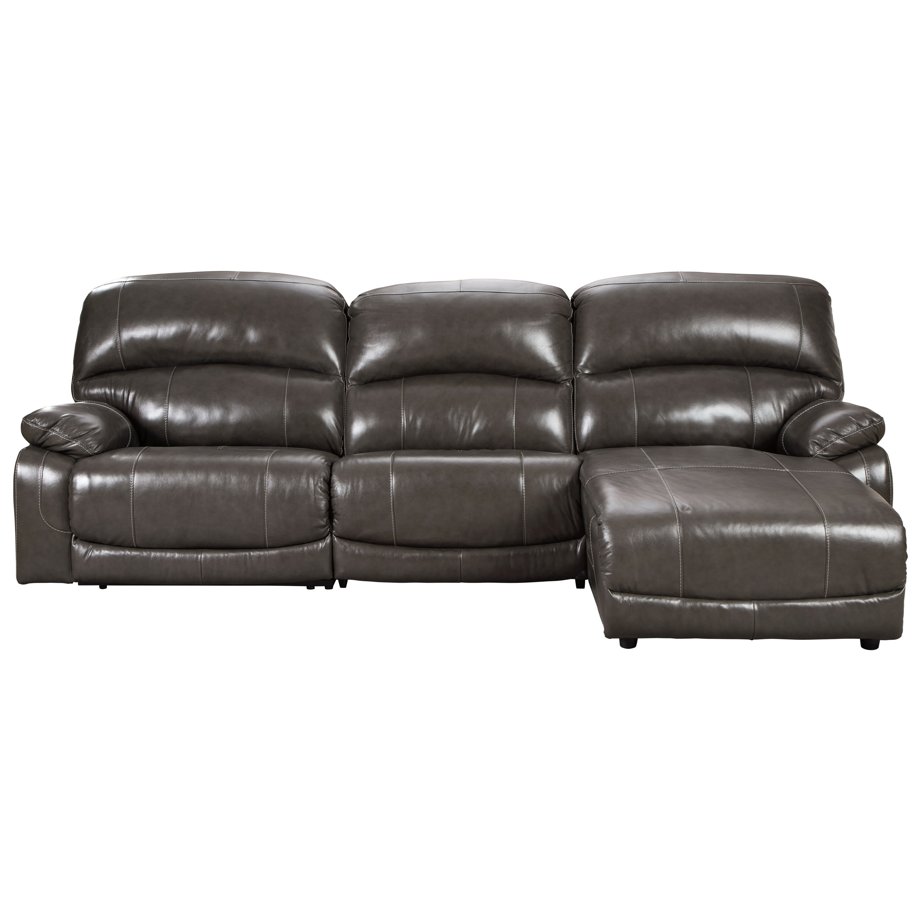Hallstrung Power Reclining Sectional by Signature Design by Ashley at HomeWorld Furniture