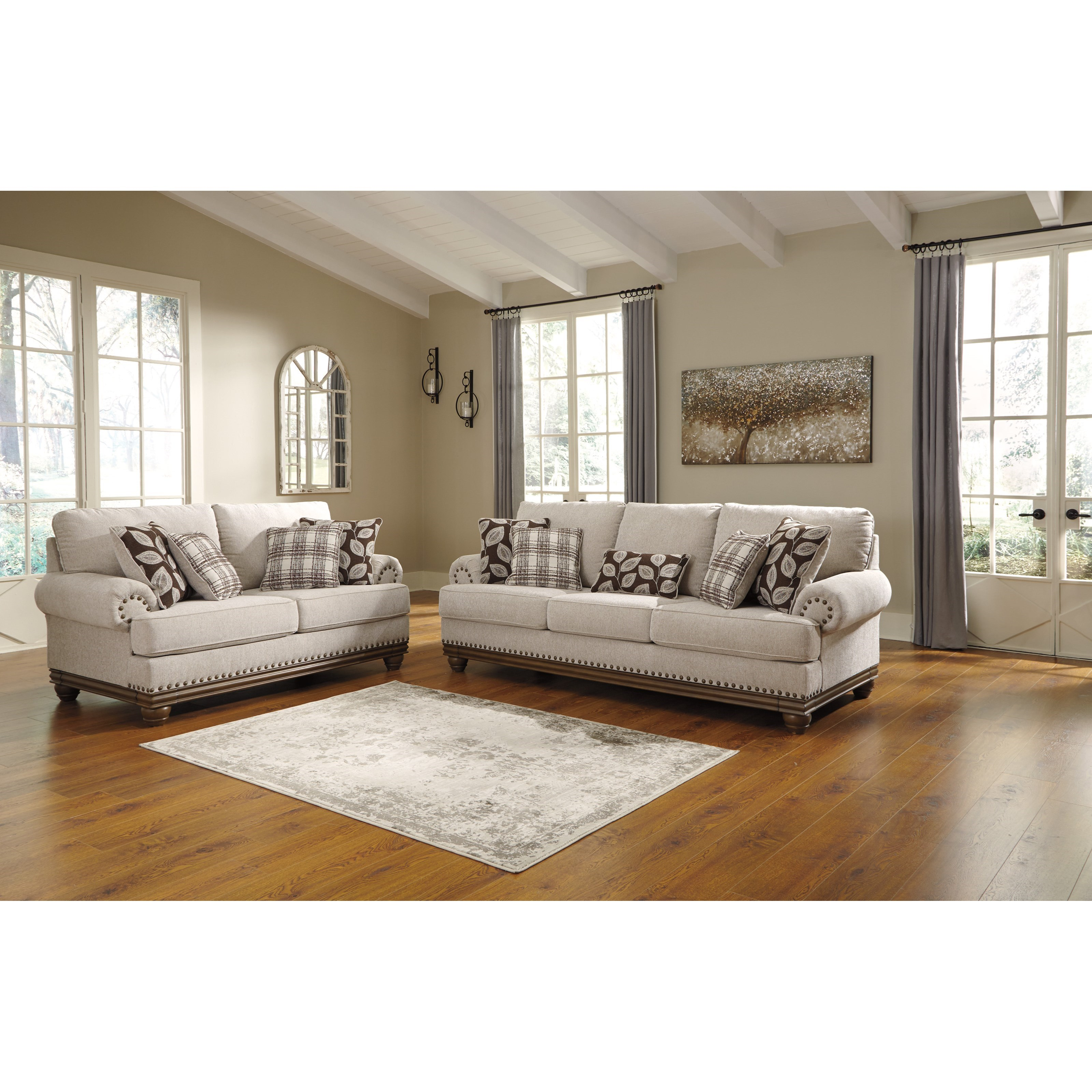 Harleson Stationary Living Room Group by Ashley (Signature Design) at Johnny Janosik