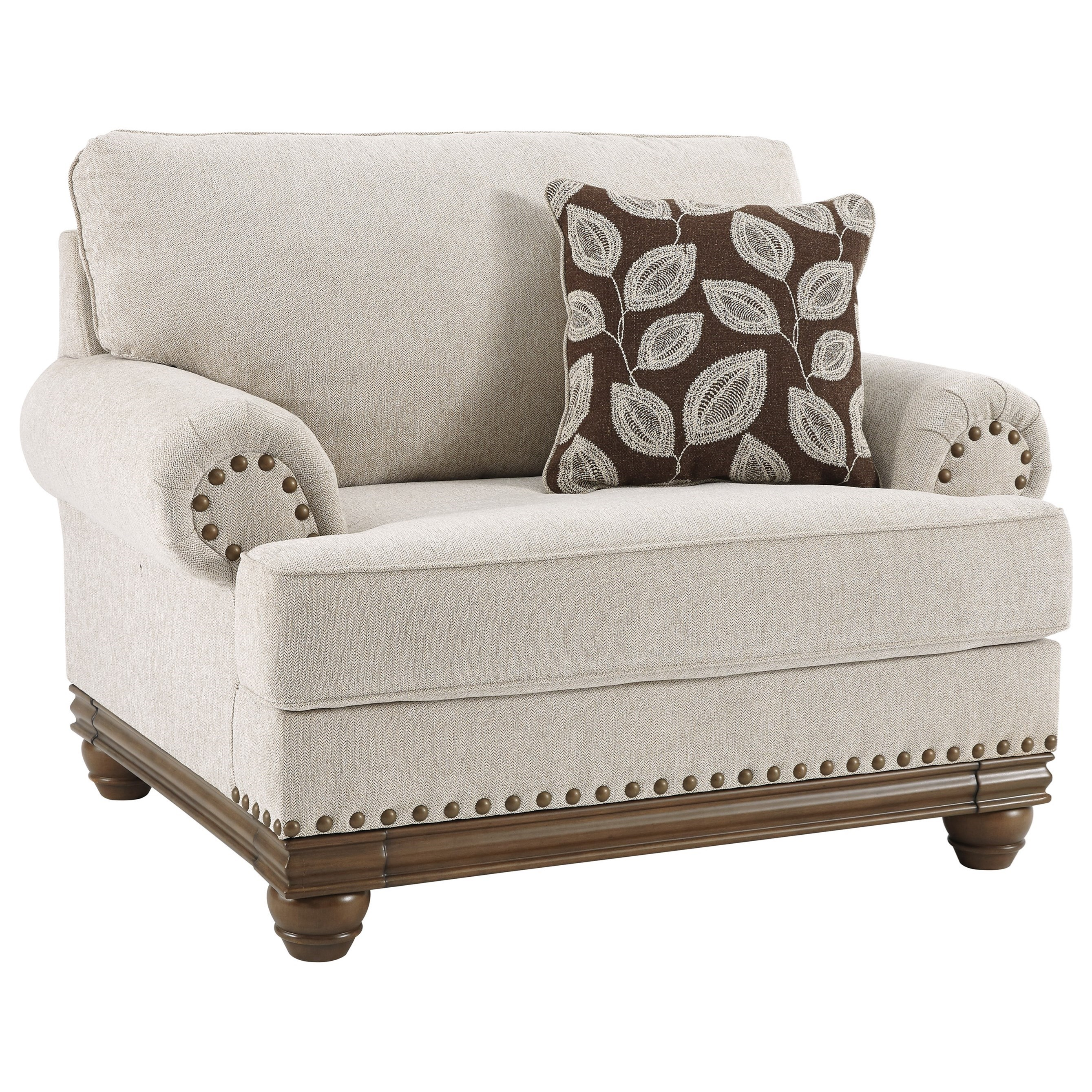 Harleson Chair and a Half by Signature at Walker's Furniture