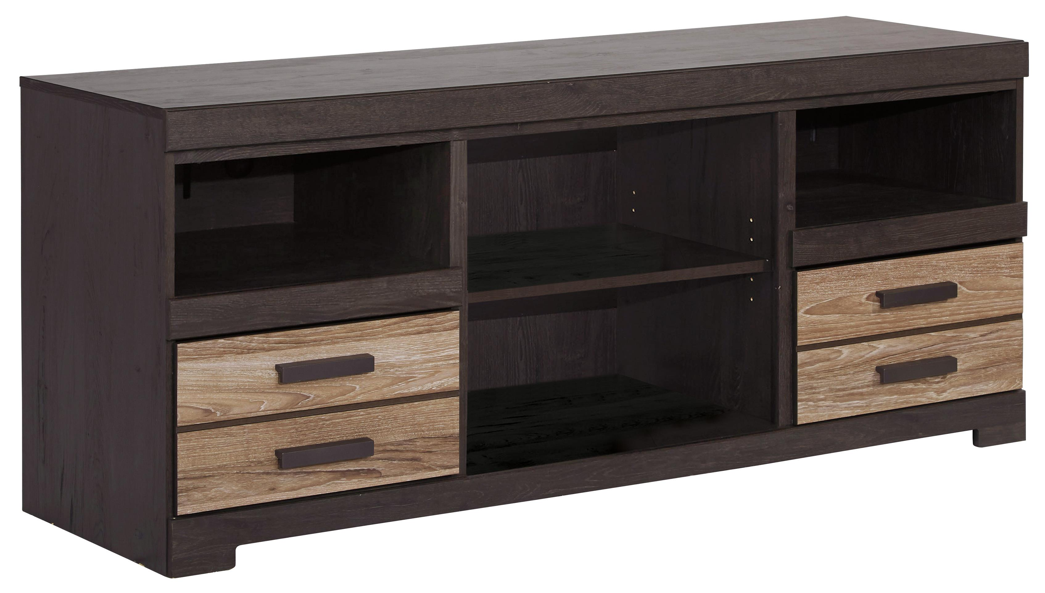 Harlinton Large TV Stand by Ashley (Signature Design) at Johnny Janosik