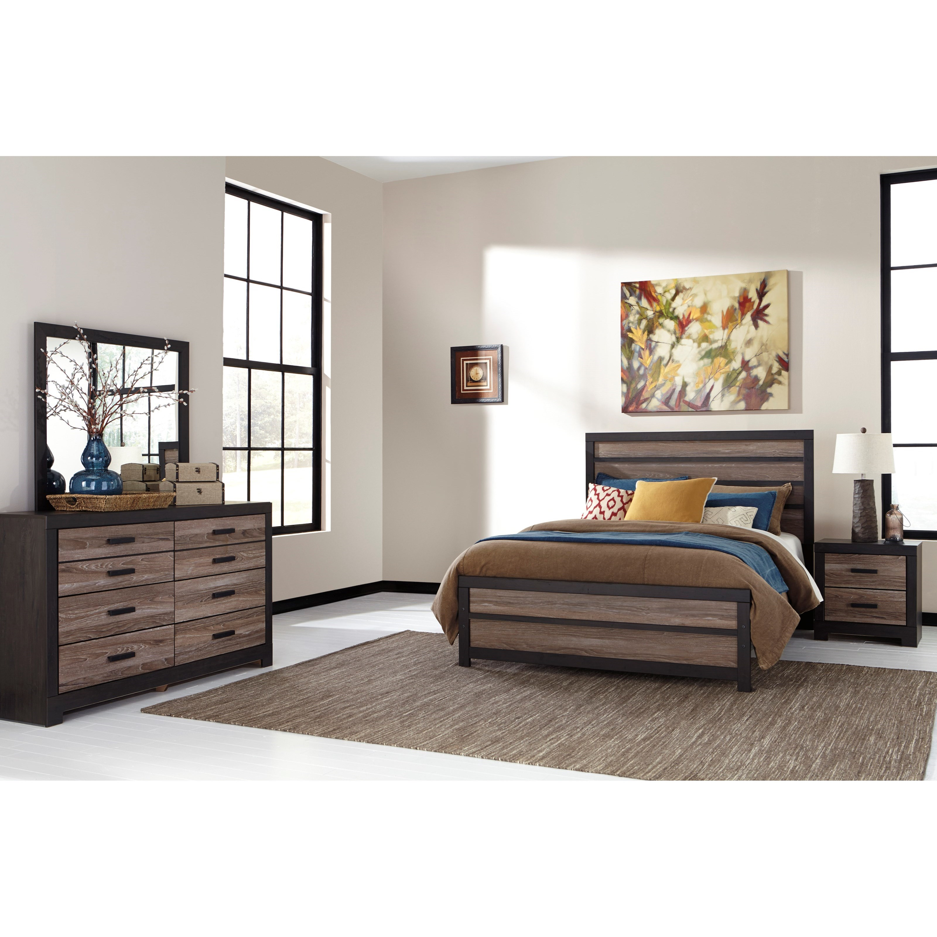 Harlinton Queen Bedroom Group by Signature Design by Ashley at Nassau Furniture and Mattress