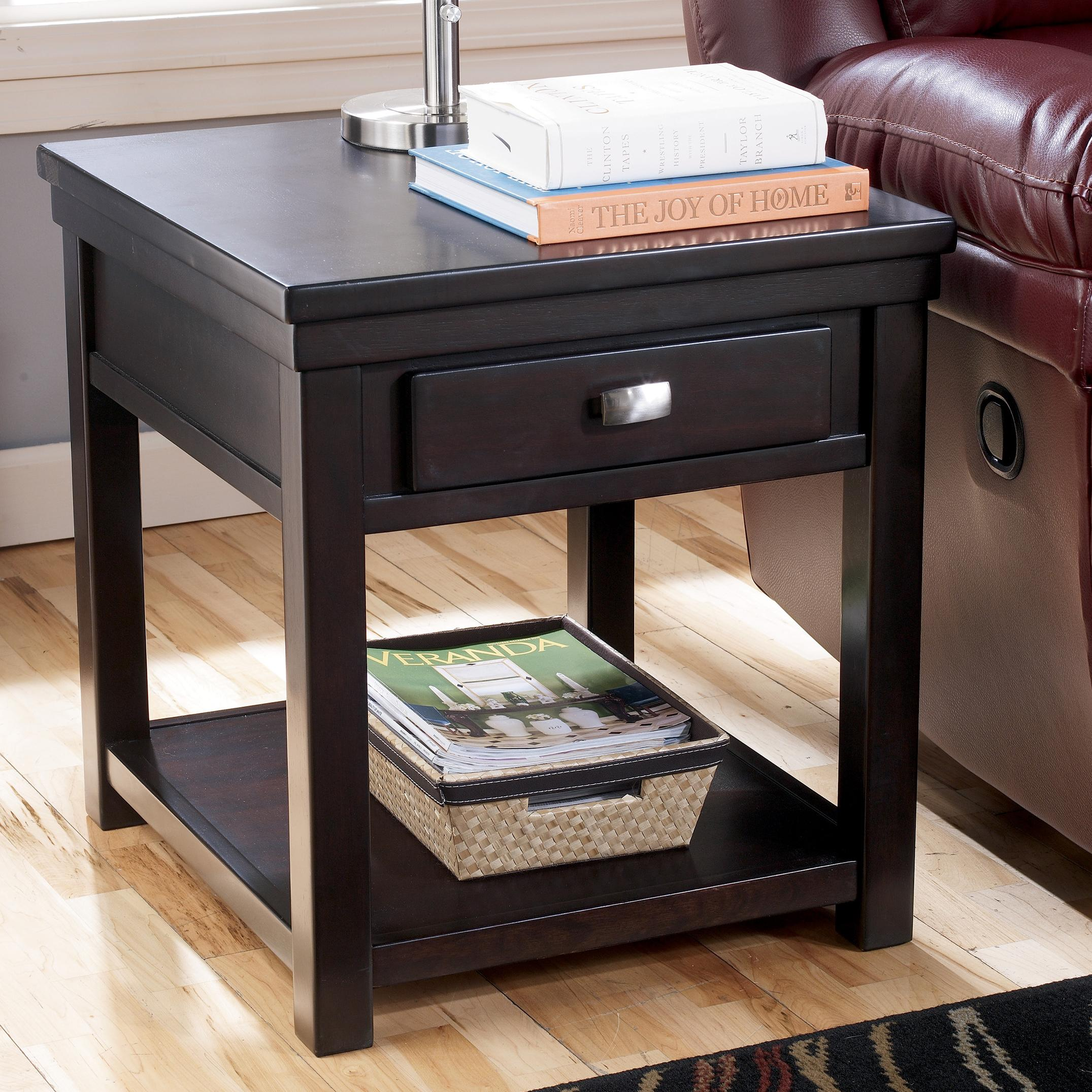Hatsuko Rectangular End Table by Signature Design by Ashley at Pilgrim Furniture City