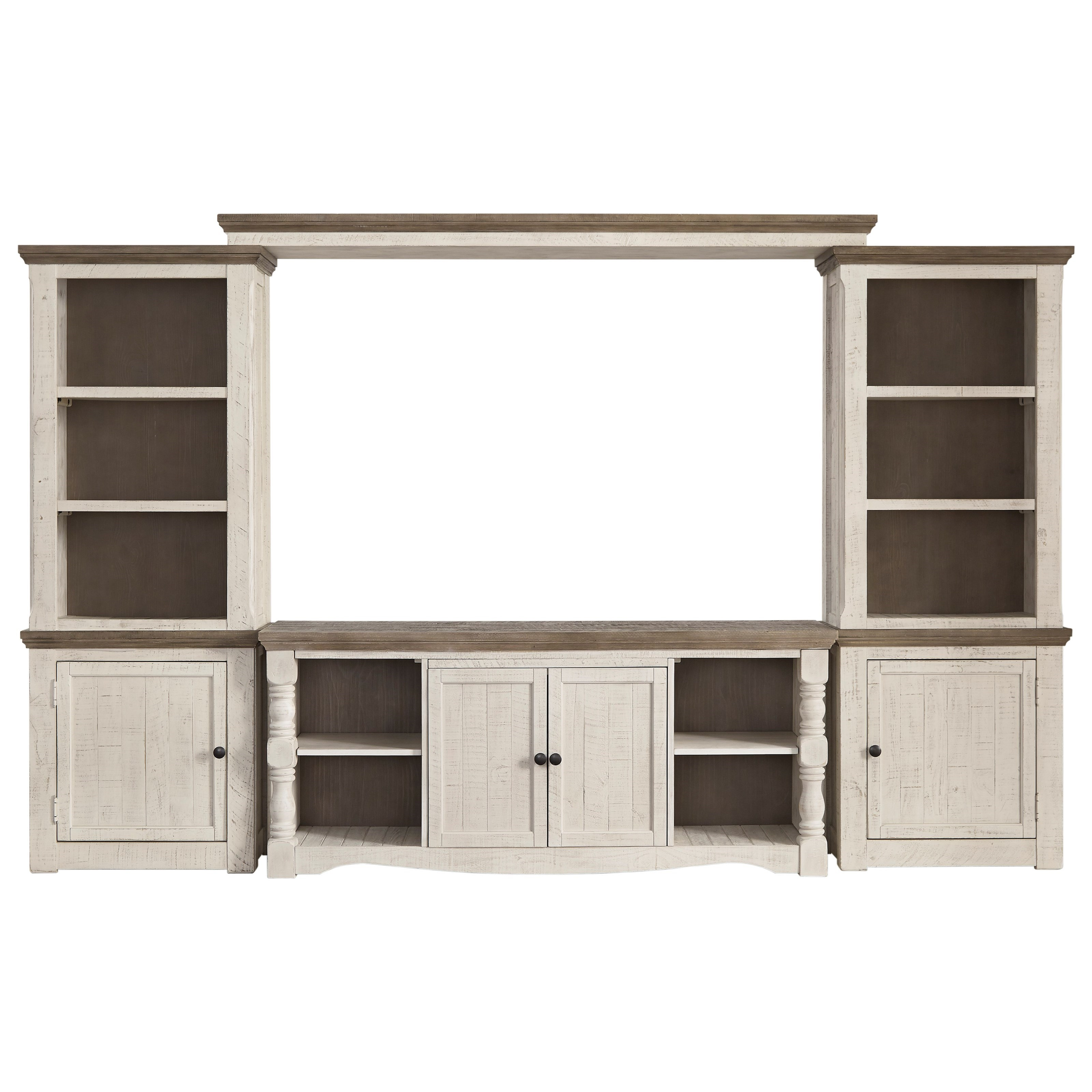 Havalance Entertainment Wall Unit by Signature Design by Ashley at Beck's Furniture
