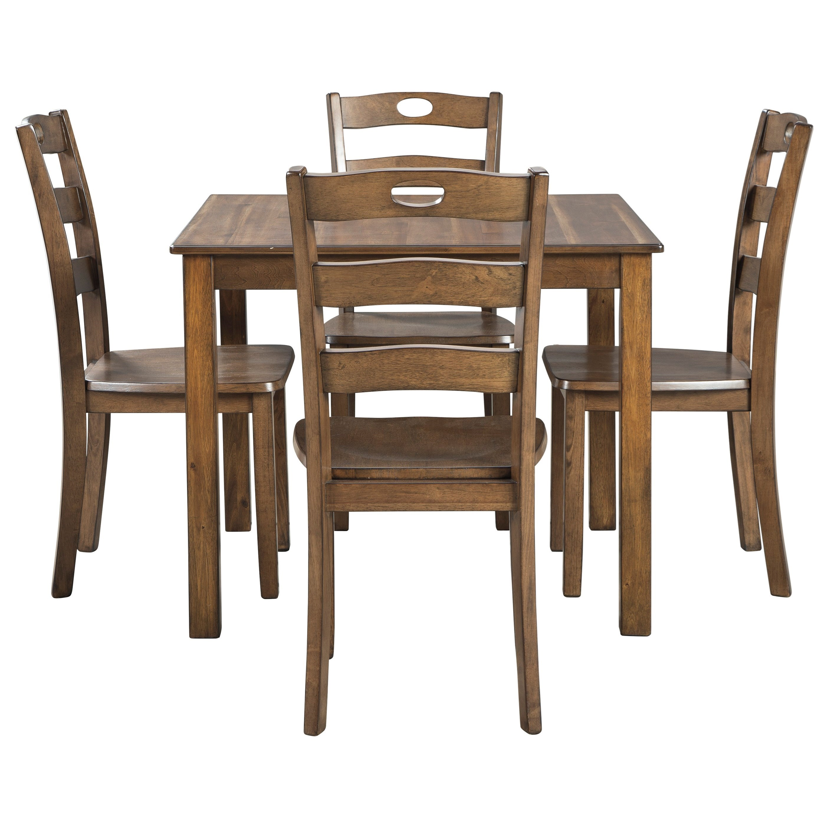 Hazelteen Dining Table and Chair Set  by Signature Design by Ashley at Zak's Warehouse Clearance Center
