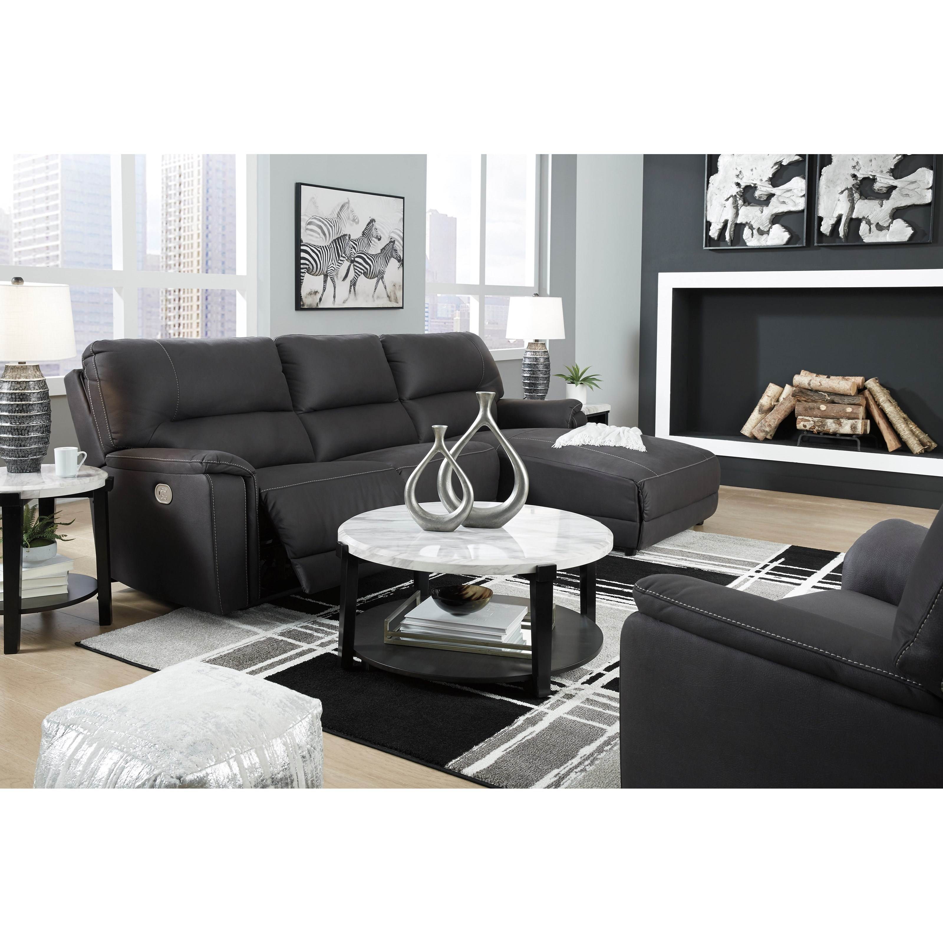 Henefer Reclining Living Room Group by Ashley (Signature Design) at Johnny Janosik