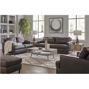 Ash Sofa, Chair and Ottoman Set