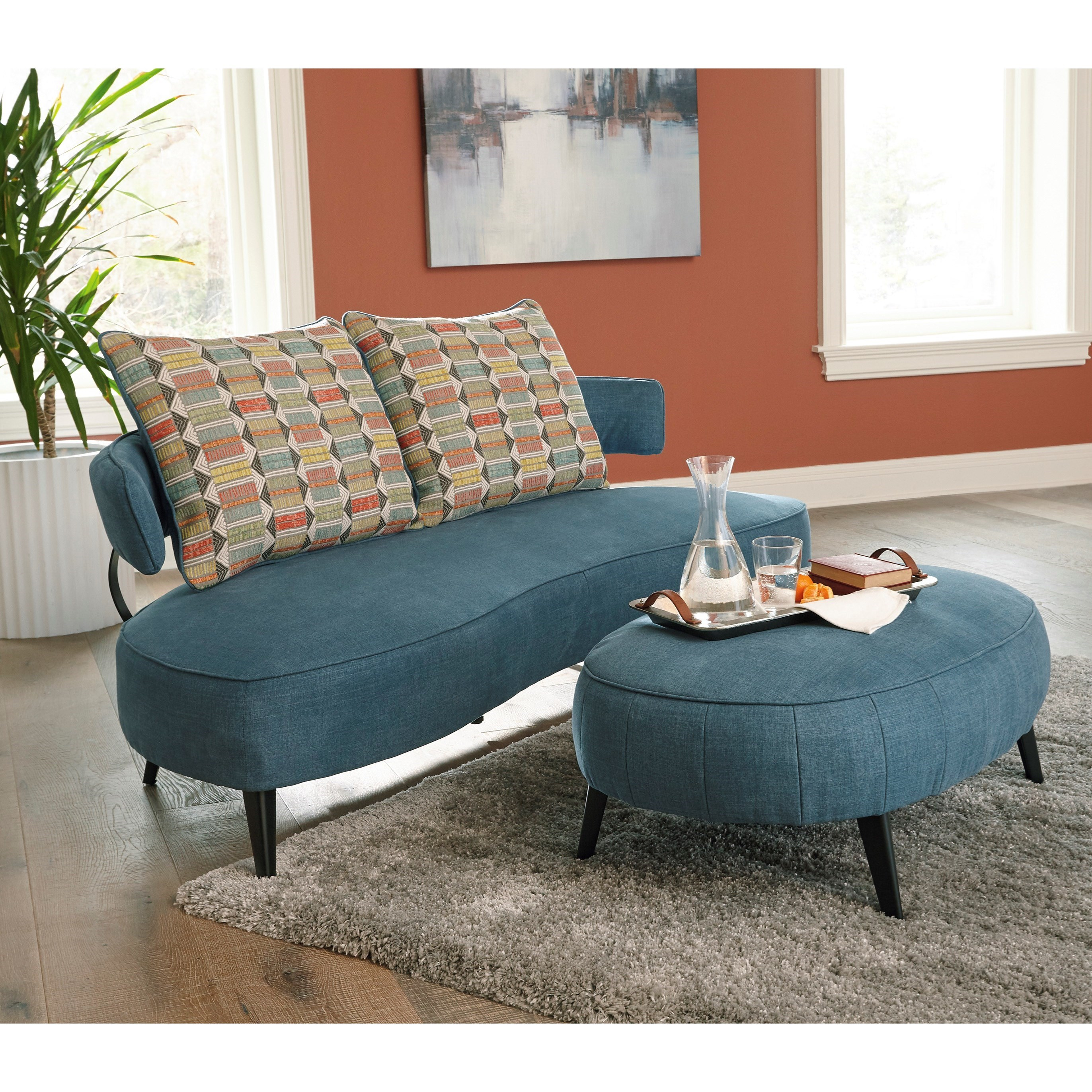 Hollyann Living Room Group by Signature at Walker's Furniture