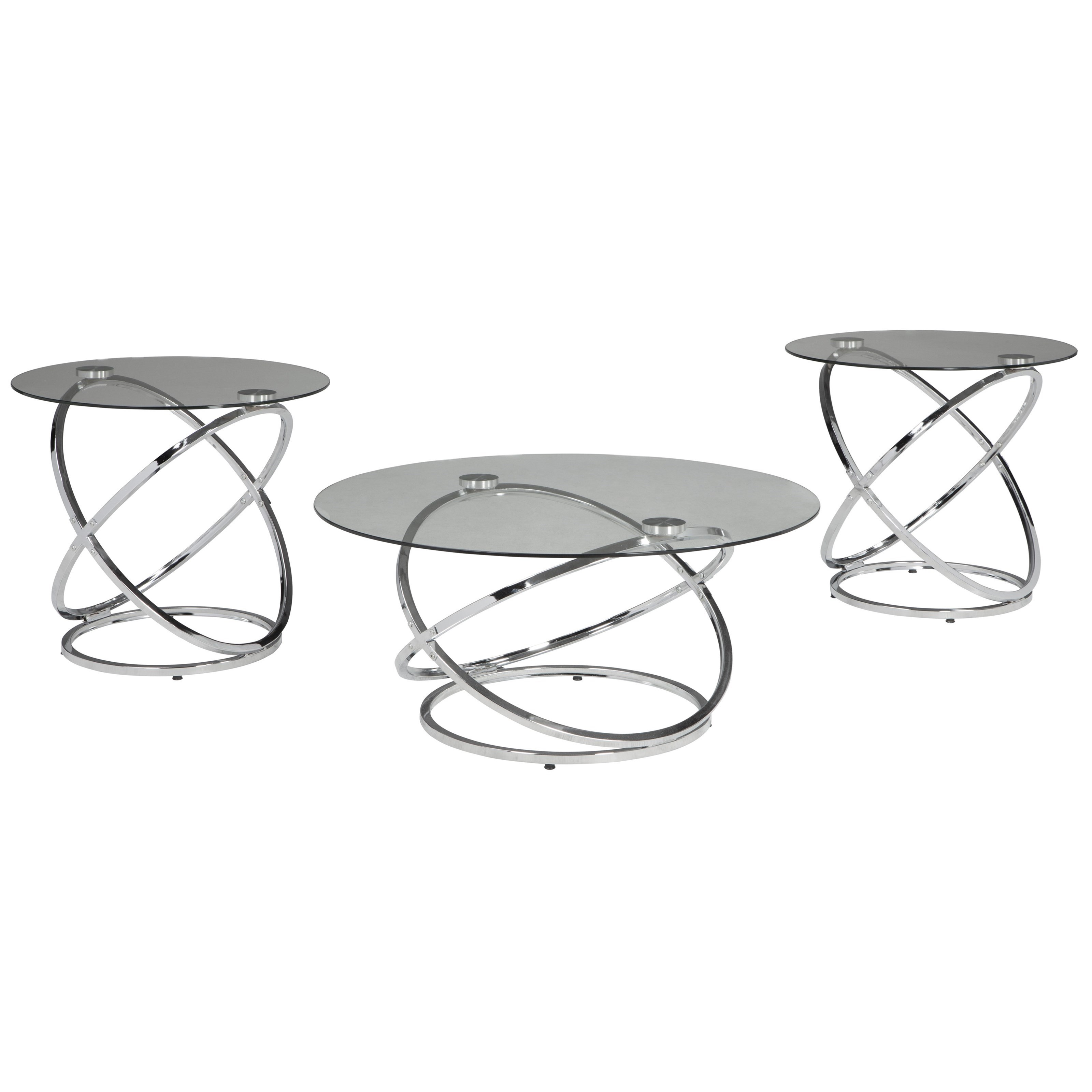 Hollynyx Occasional Table Set by Signature Design by Ashley at Red Knot