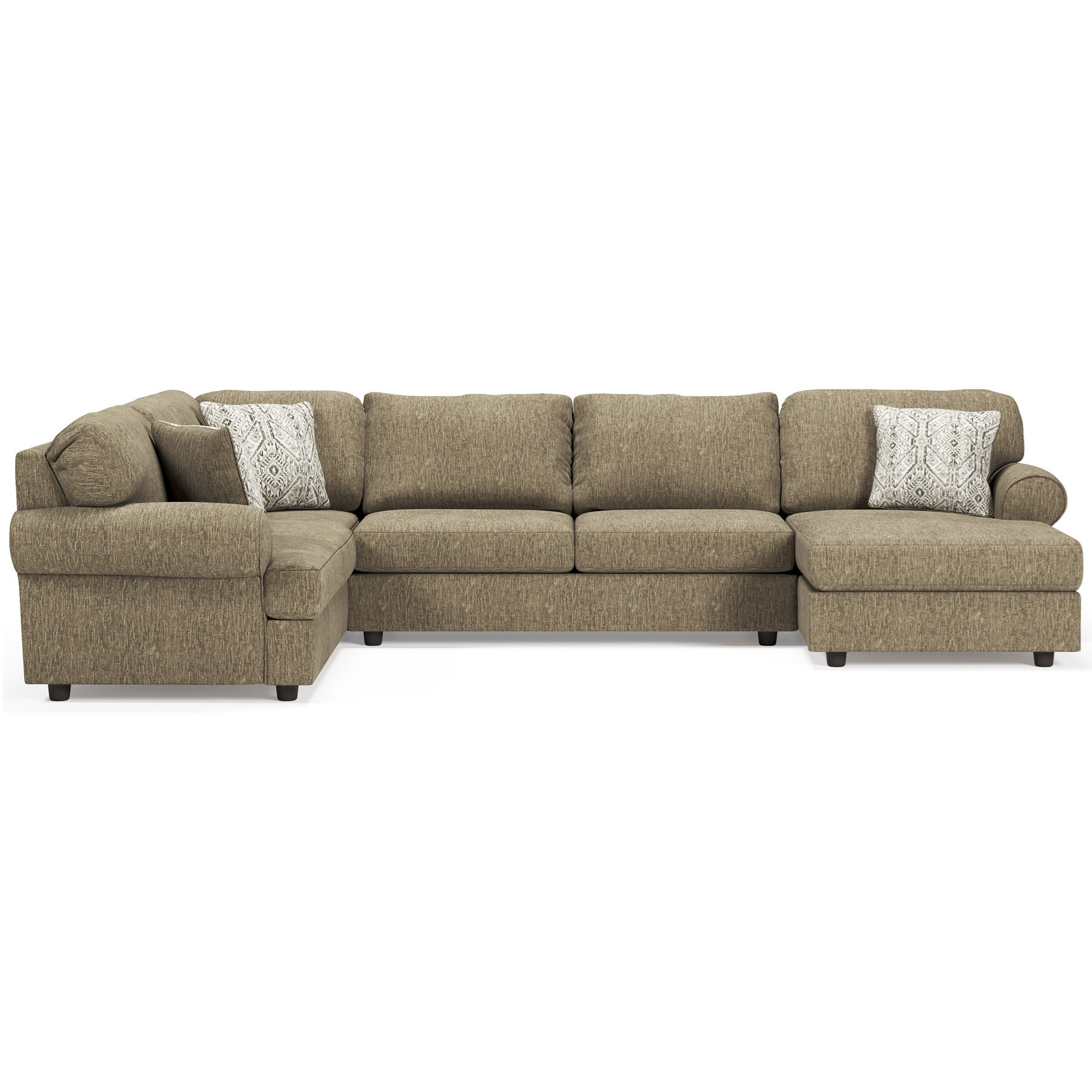Hoylake 3-Piece Sectional with Chaise by Signature Design by Ashley at Beck's Furniture
