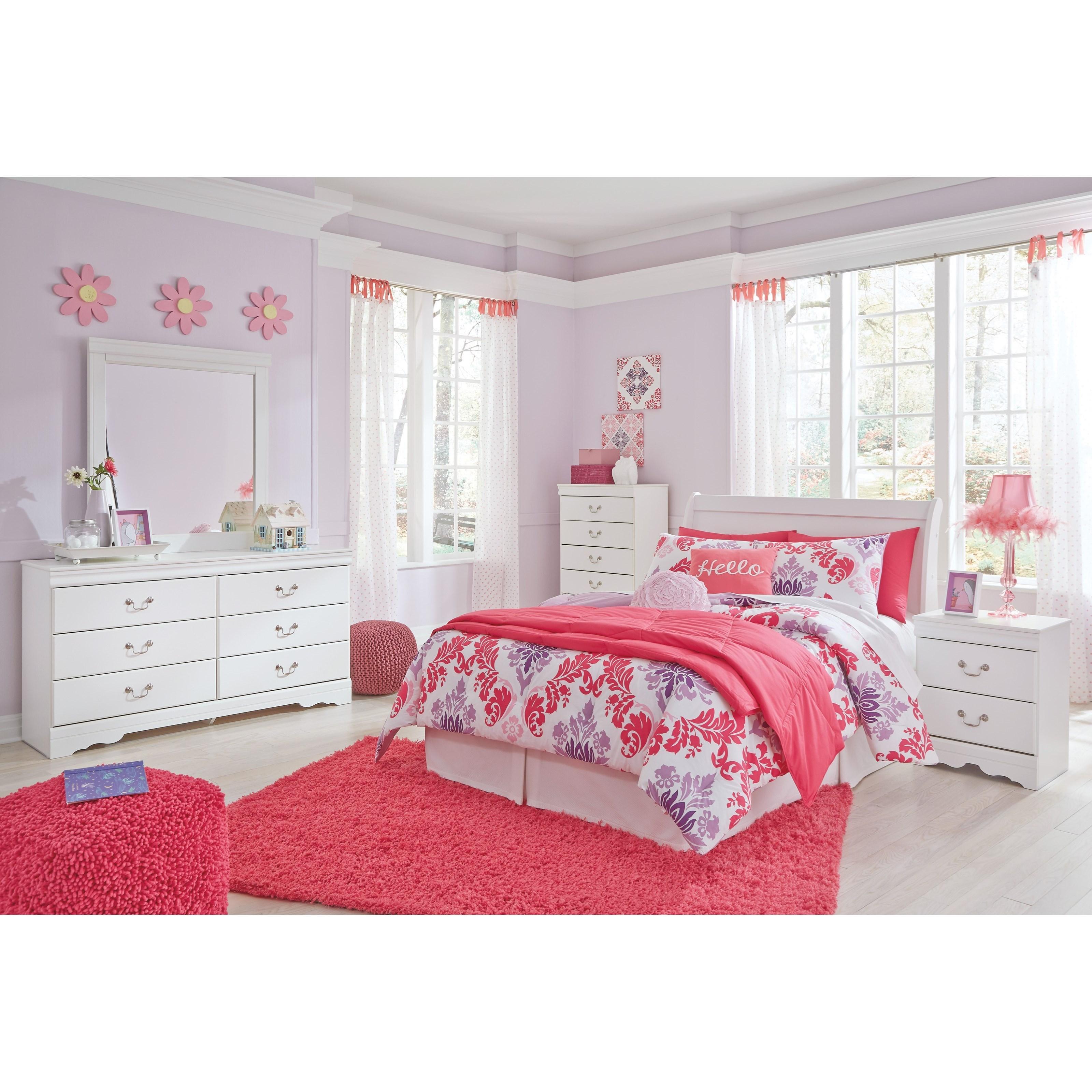 Anarasia Full Bedroom Group by Ashley (Signature Design) at Johnny Janosik