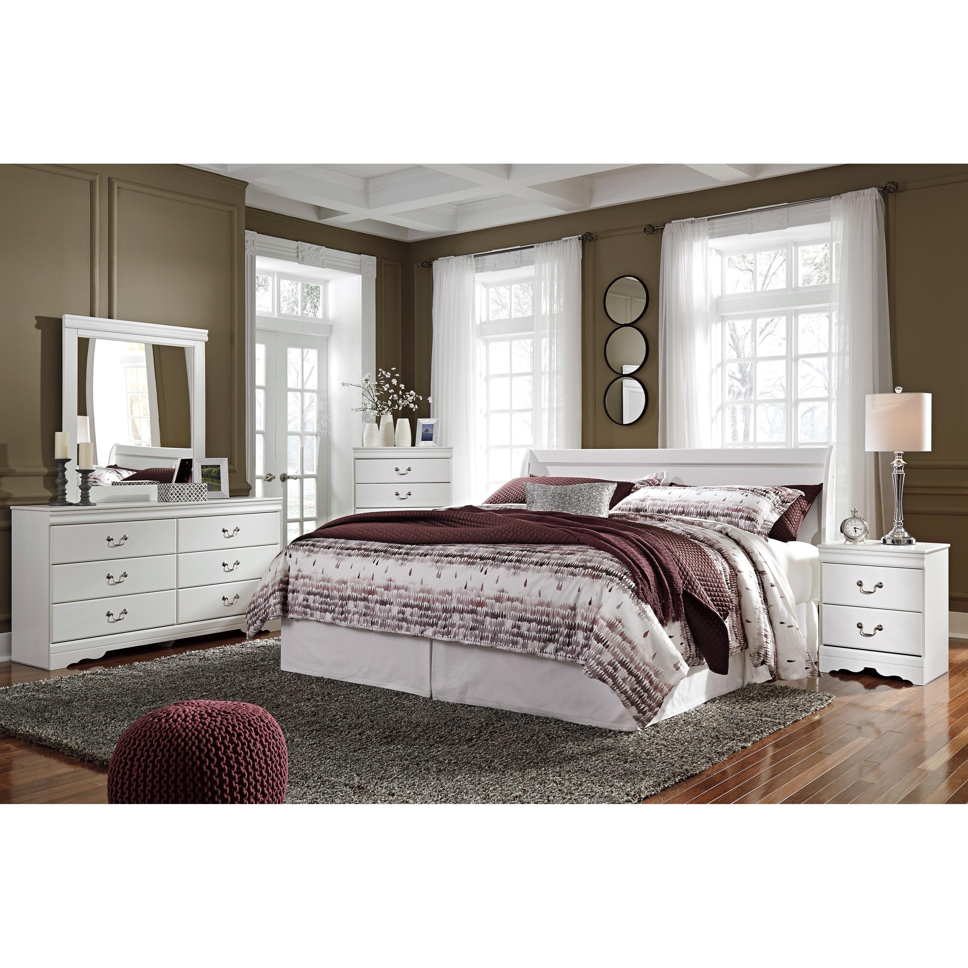 Anarasia King Bedroom Group by Ashley (Signature Design) at Johnny Janosik