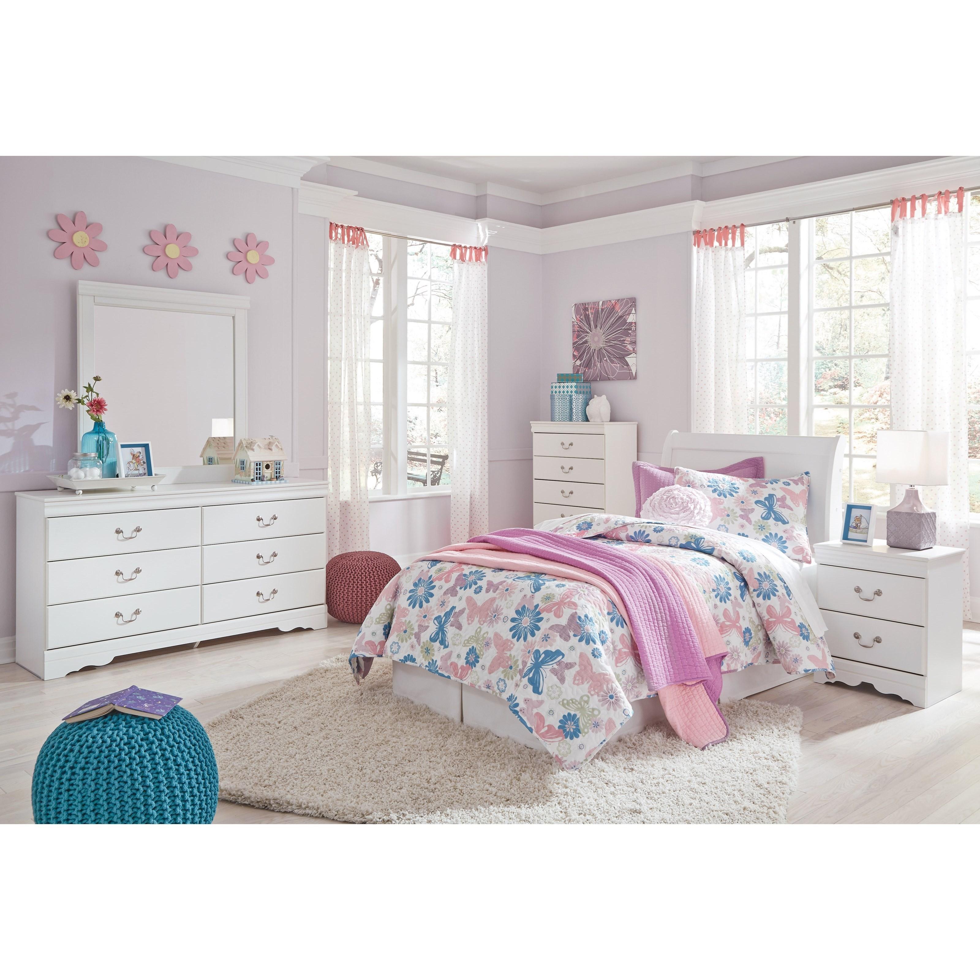 Anarasia Twin Bedroom Group by Ashley (Signature Design) at Johnny Janosik
