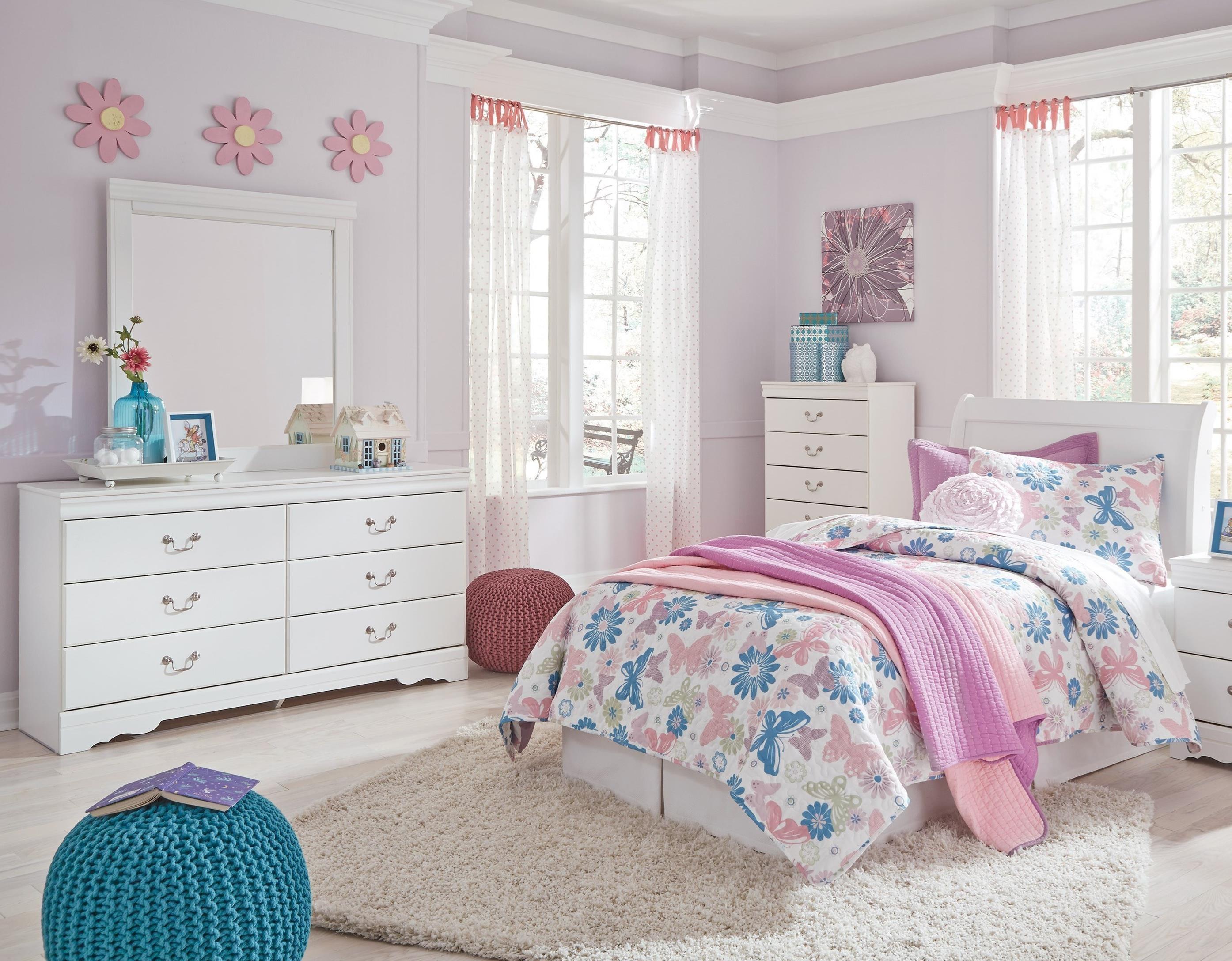 Anarasia 3-Piece Twin Bedroom Group by Ashley (Signature Design) at Johnny Janosik