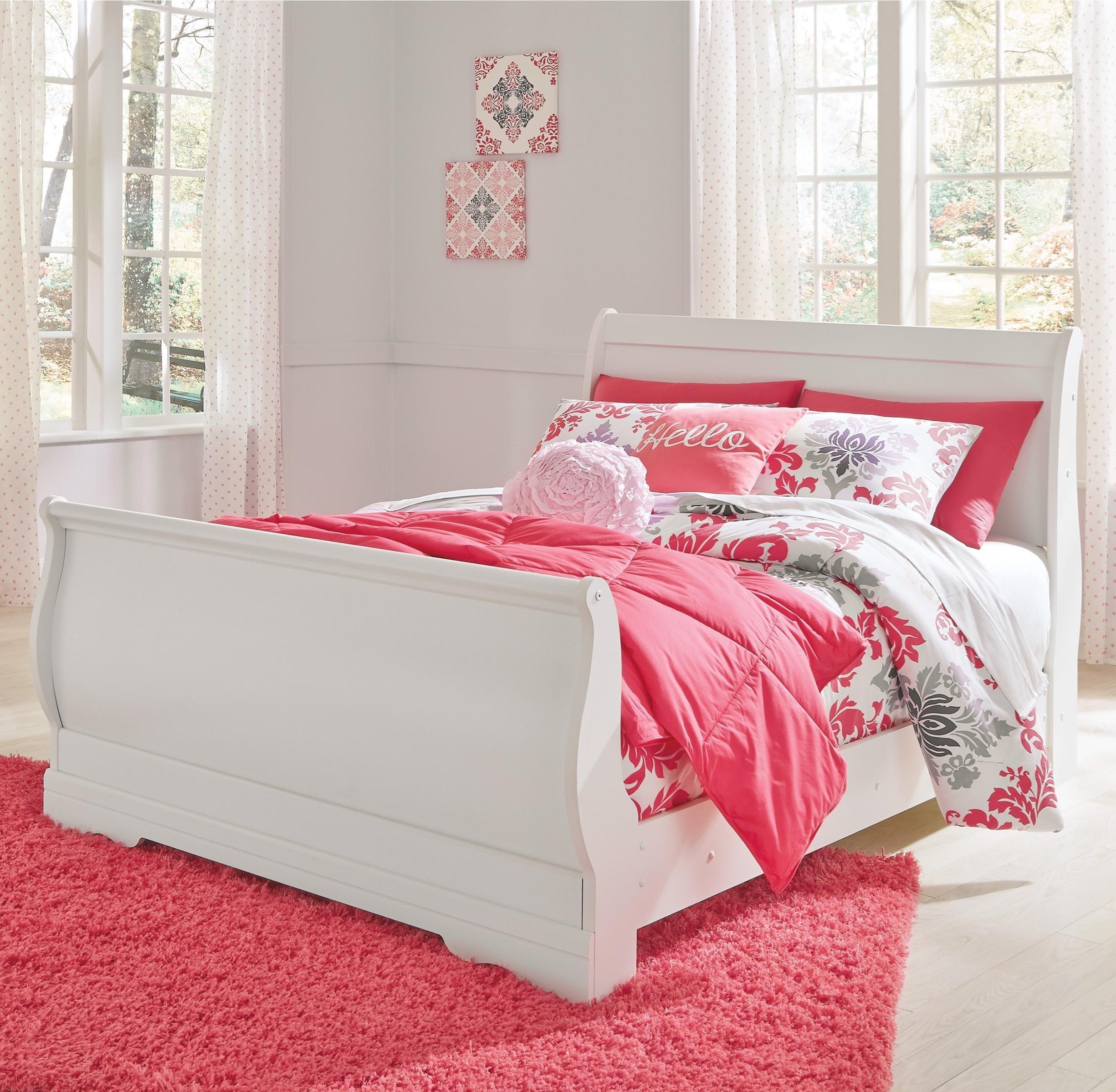 Anastasia Anastasia Full Sleigh Bed by Ashley at Morris Home