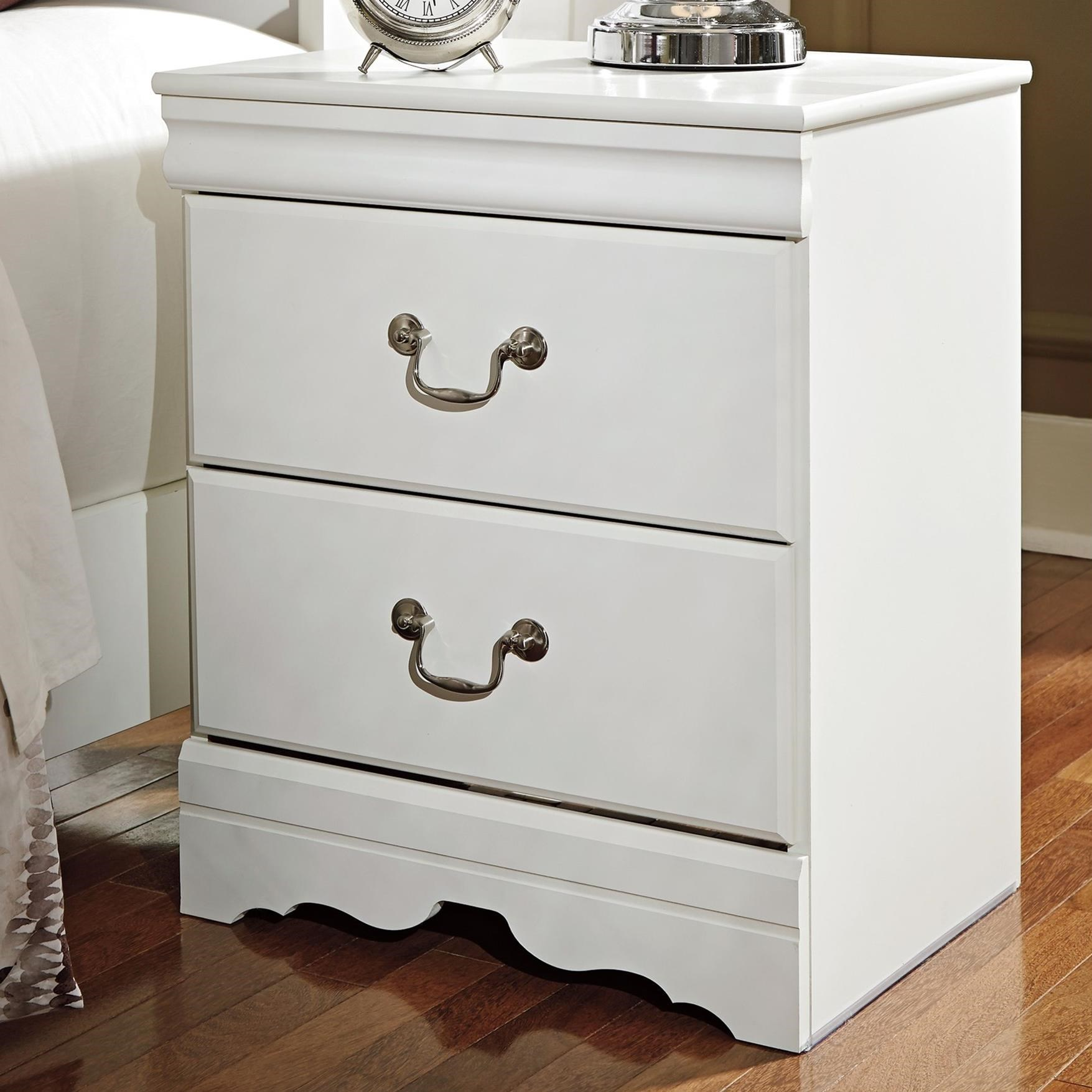 Anarasia Nightstand by Signature Design by Ashley at Northeast Factory Direct