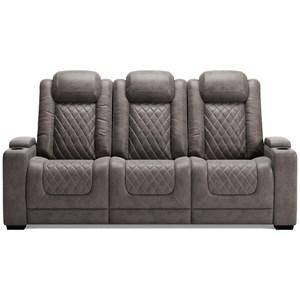Pwr Rec Sofa with Adj Headrests