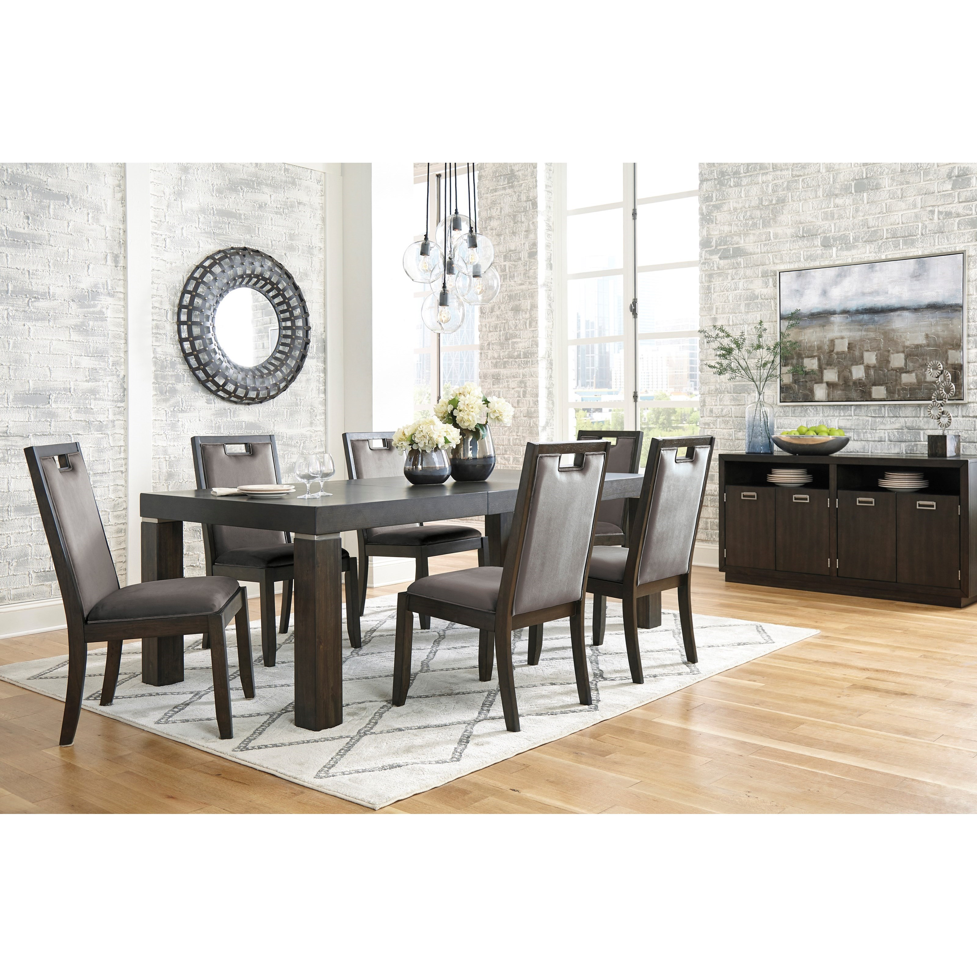 Hyndell Dining Room Group by Ashley (Signature Design) at Johnny Janosik