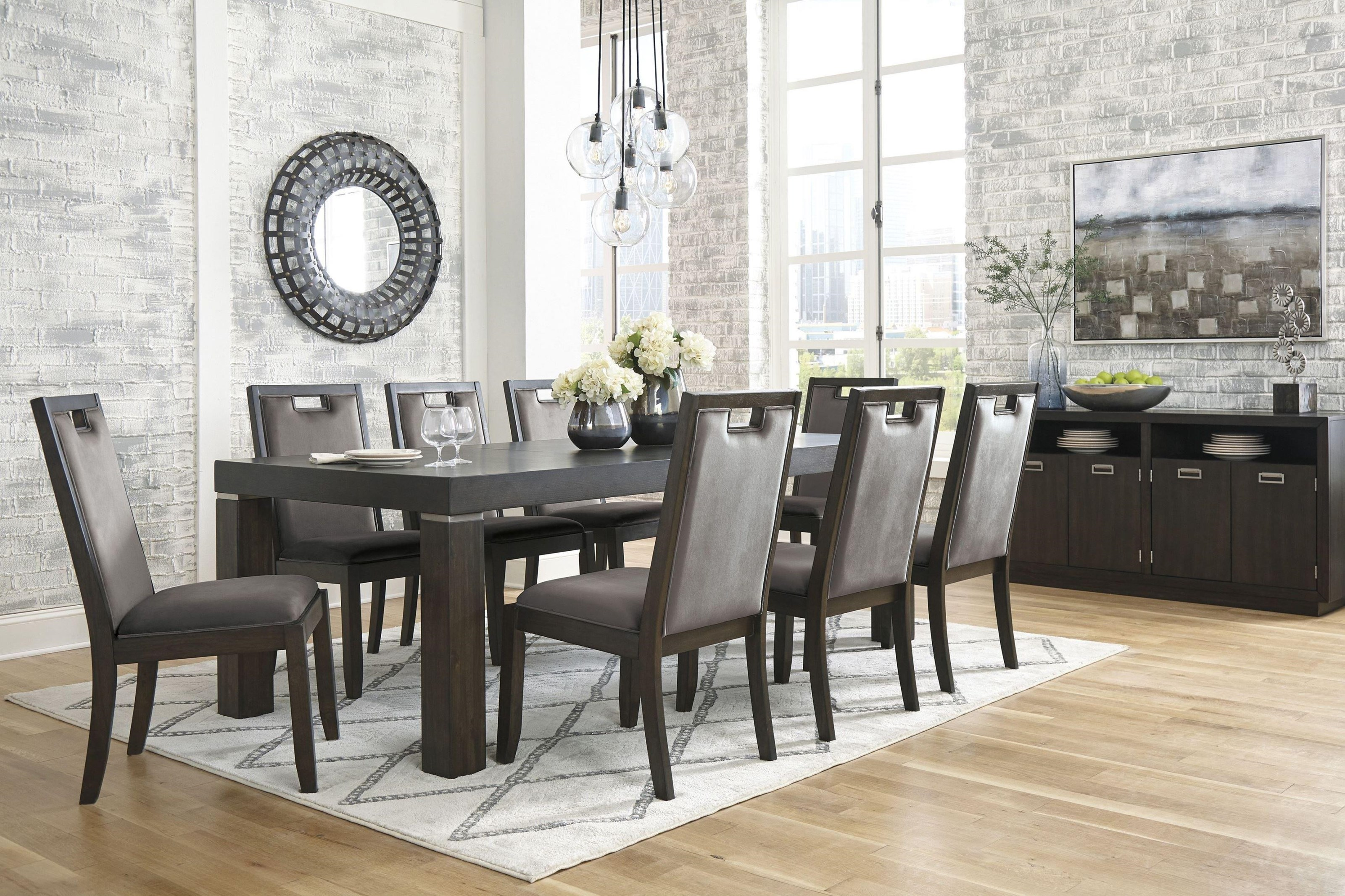 Hyndell 5 Piece Dining Set by Signature Design by Ashley at Darvin Furniture