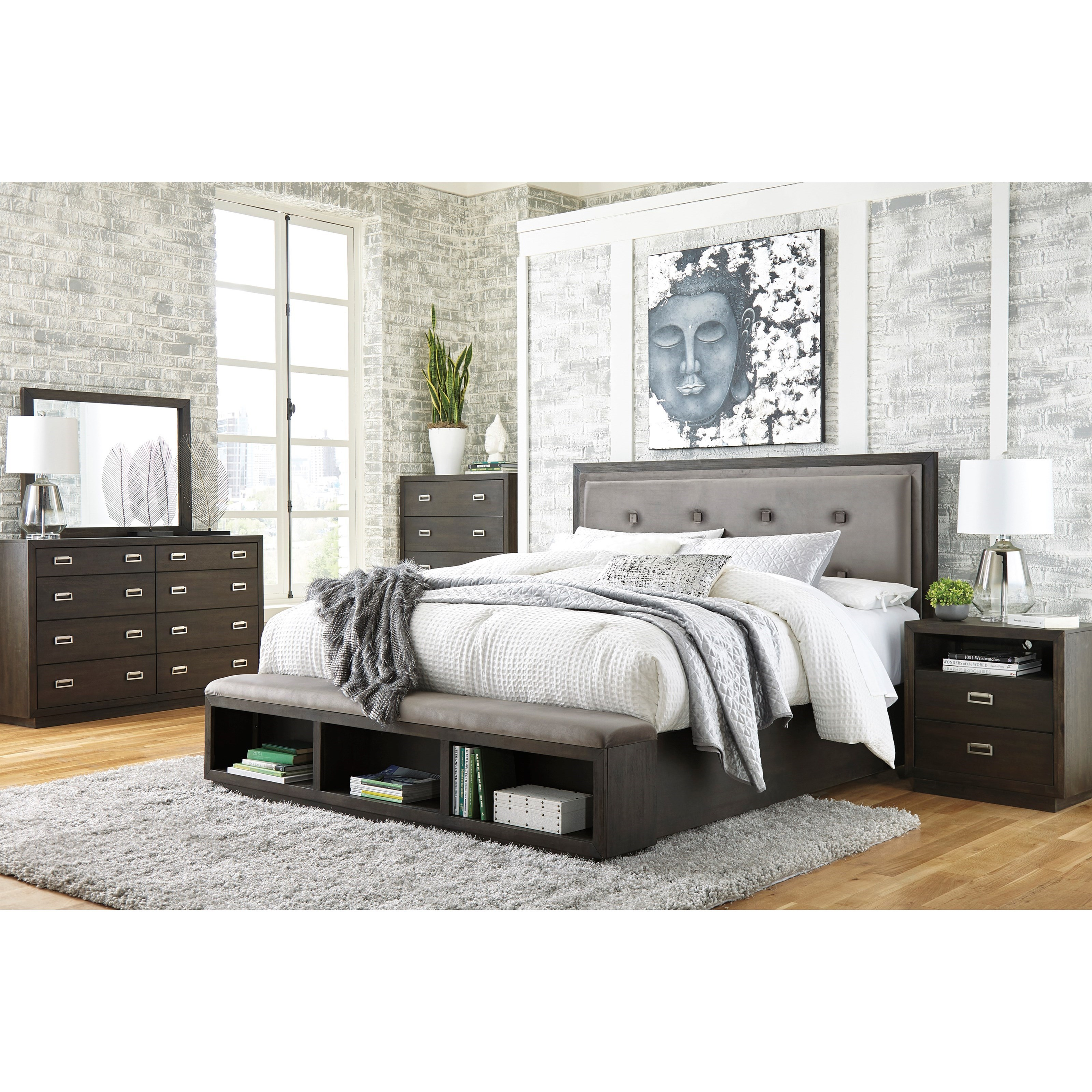 Hyndell California King Bedroom Group by Ashley (Signature Design) at Johnny Janosik
