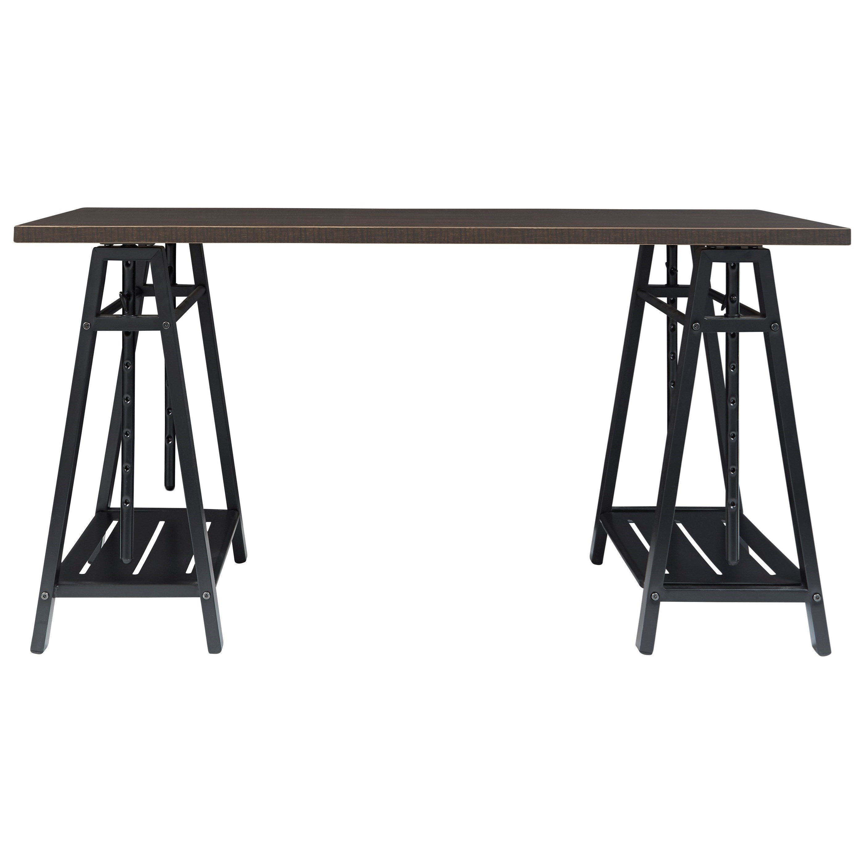 Irene Adjustable Height Desk by Ashley (Signature Design) at Johnny Janosik