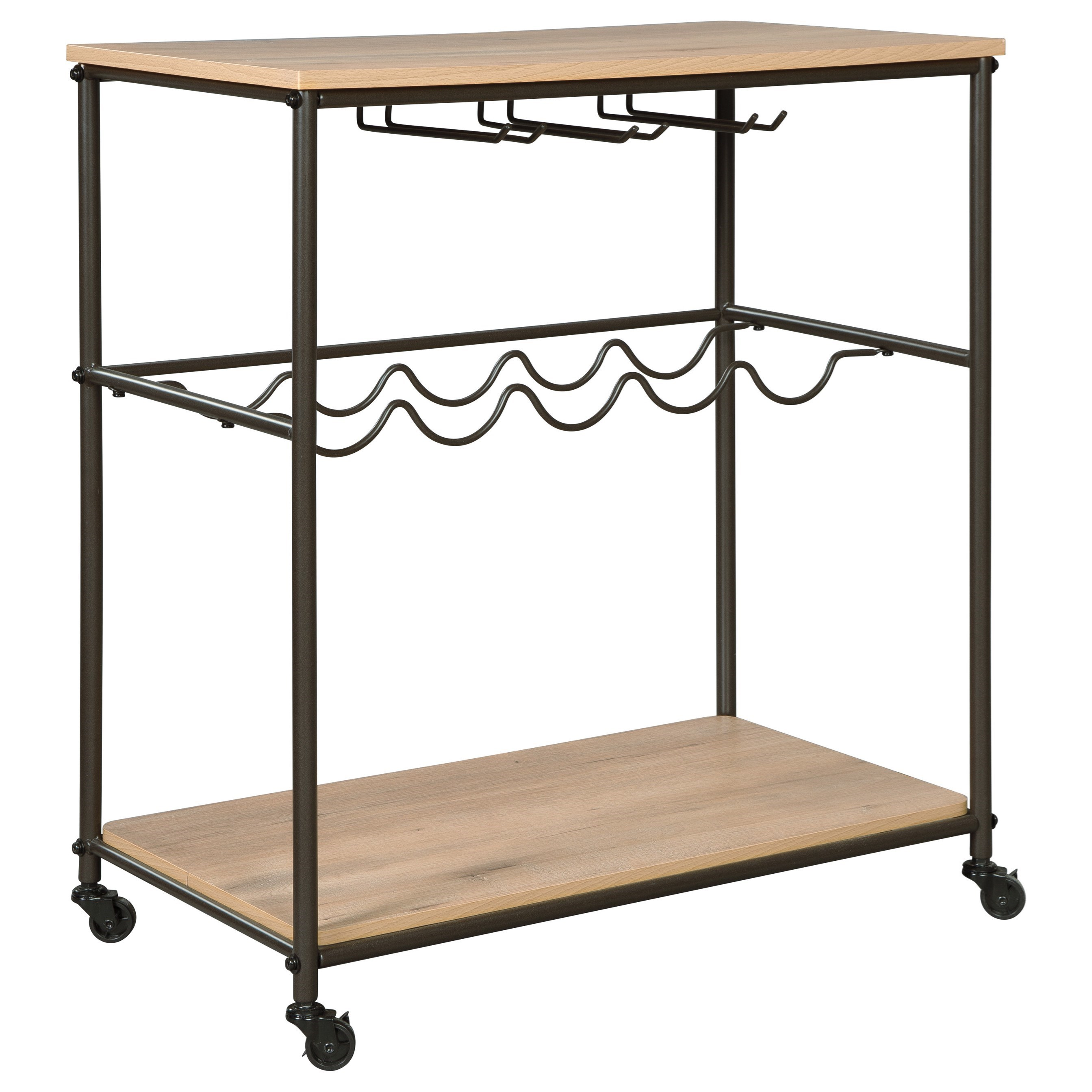 Jadonport Bar Cart by Signature Design by Ashley at Rooms for Less