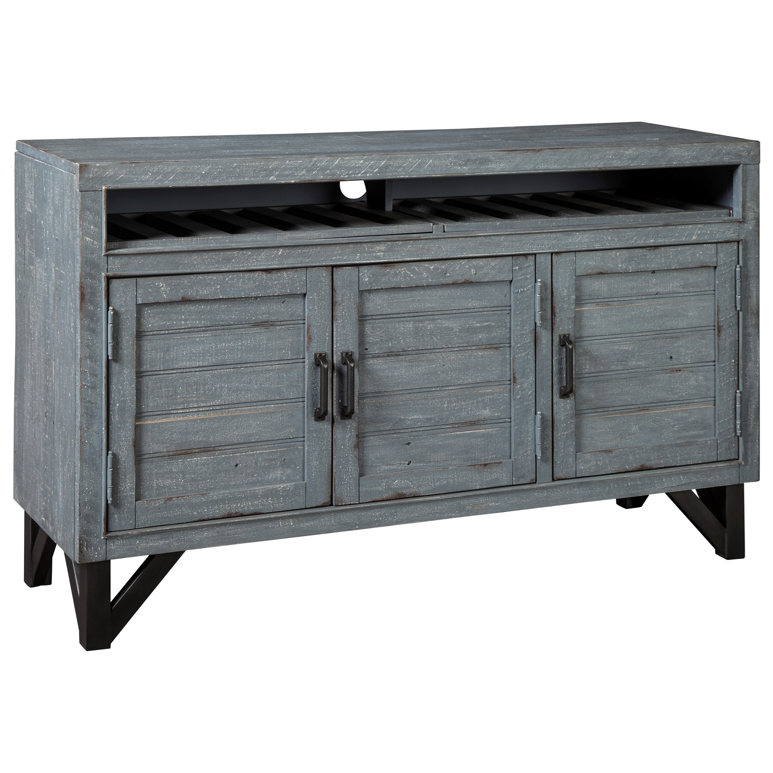 Jainworth Accent Cabinet by Signature at Walker's Furniture