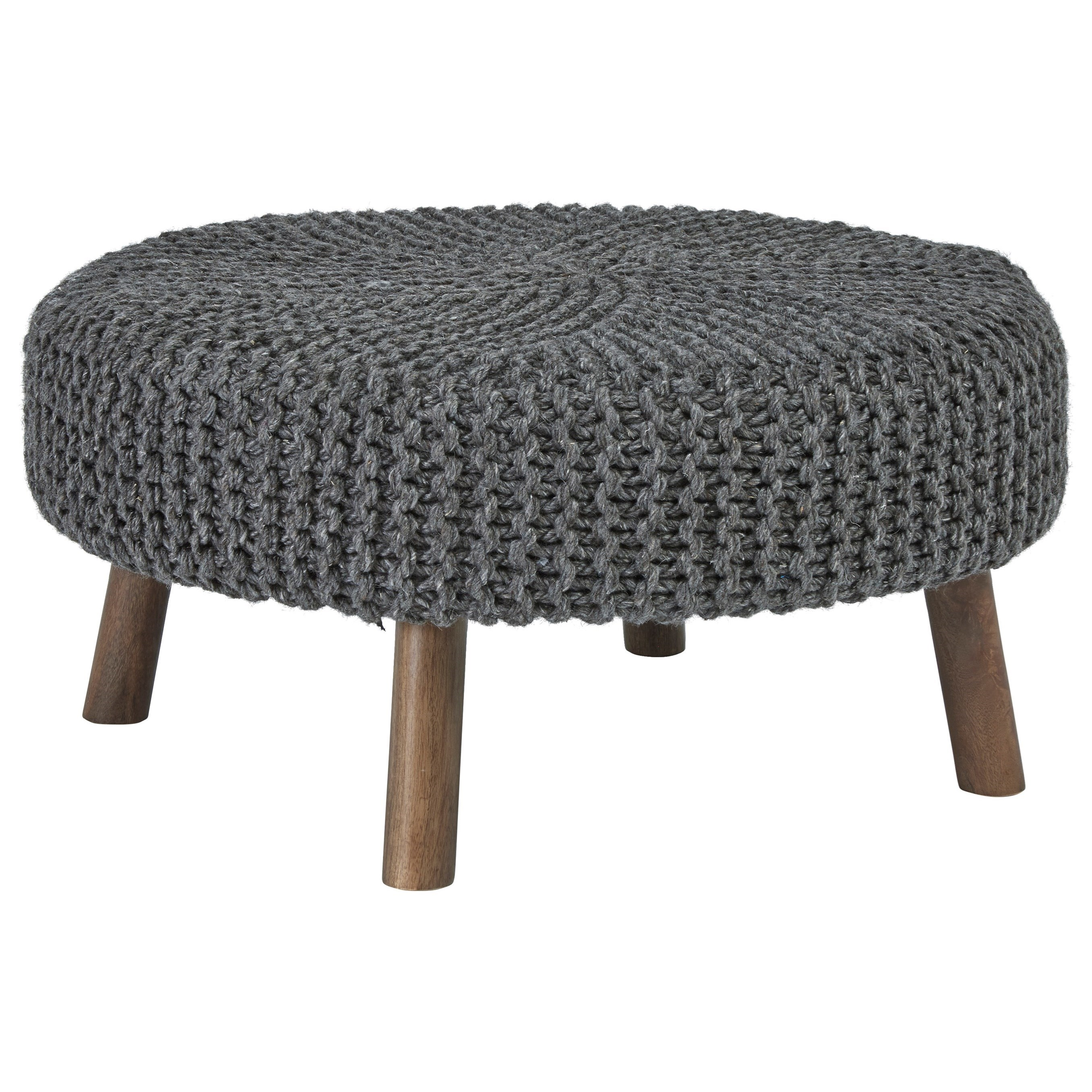 Jassmyn Oversized Accent Ottoman by Signature Design by Ashley at Northeast Factory Direct