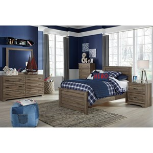Signature Design by Ashley Javarin Twin Bedroom Group