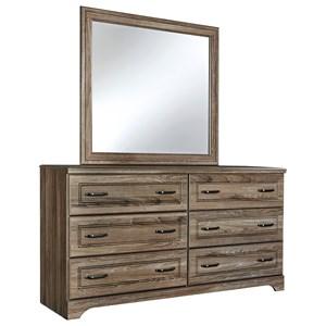 Signature Design by Ashley Javarin Dresser & Bedroom Mirror