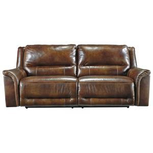 Signature Design by Ashley Jayron 2 Seat Reclining Power Sofa