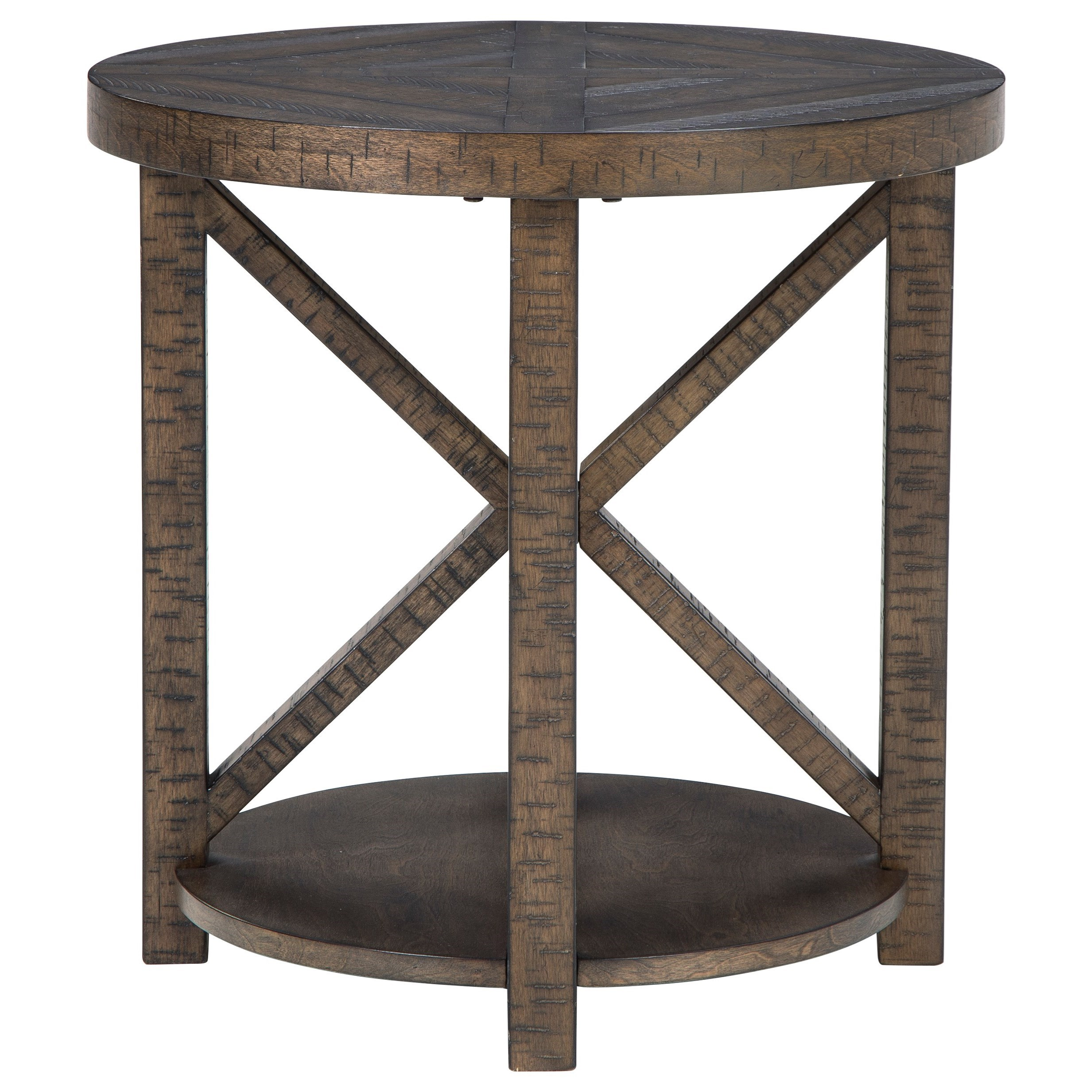 Jessoli Round End Table by Signature Design by Ashley at Rife's Home Furniture