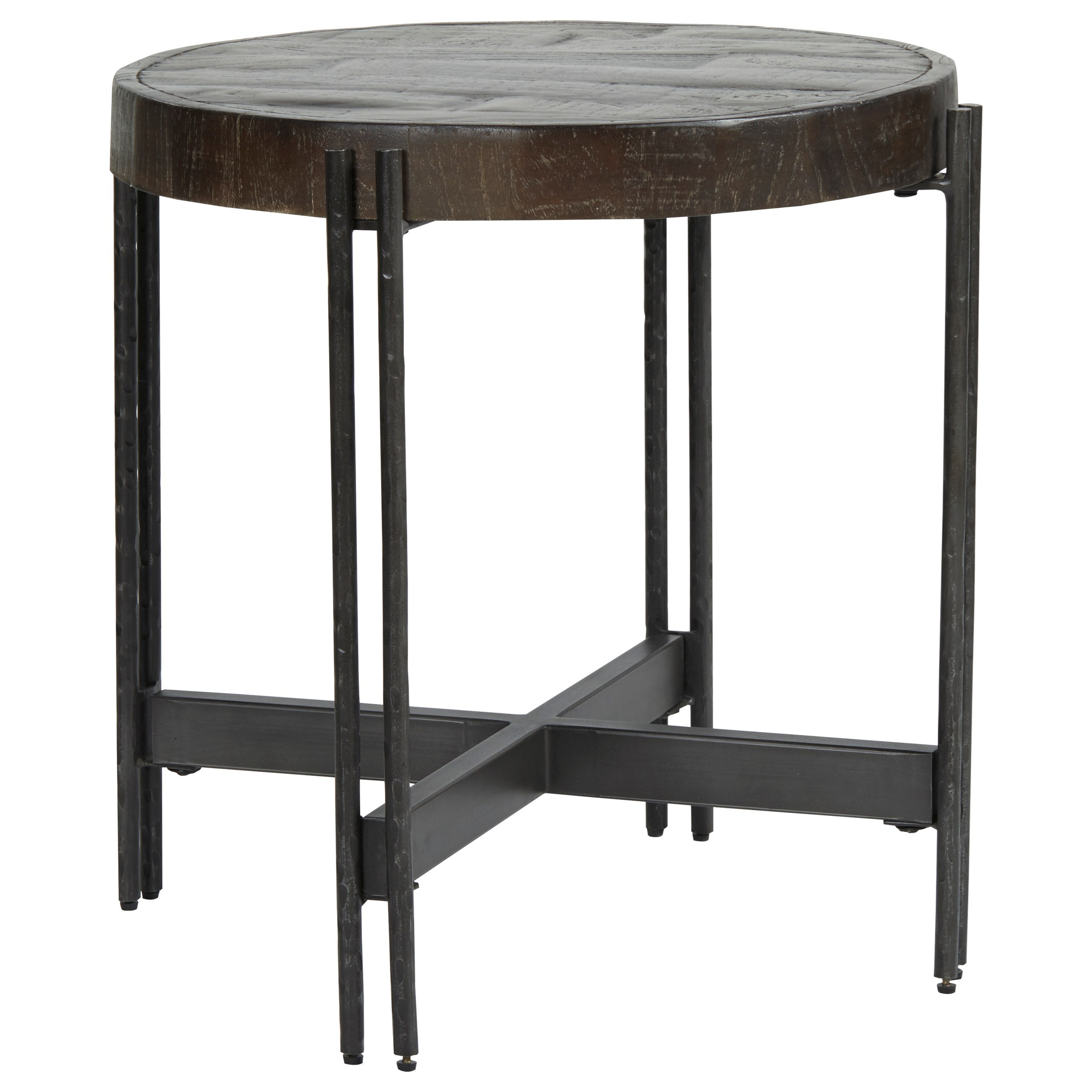 Jillenhurst Round End Table by Signature Design by Ashley at Beck's Furniture