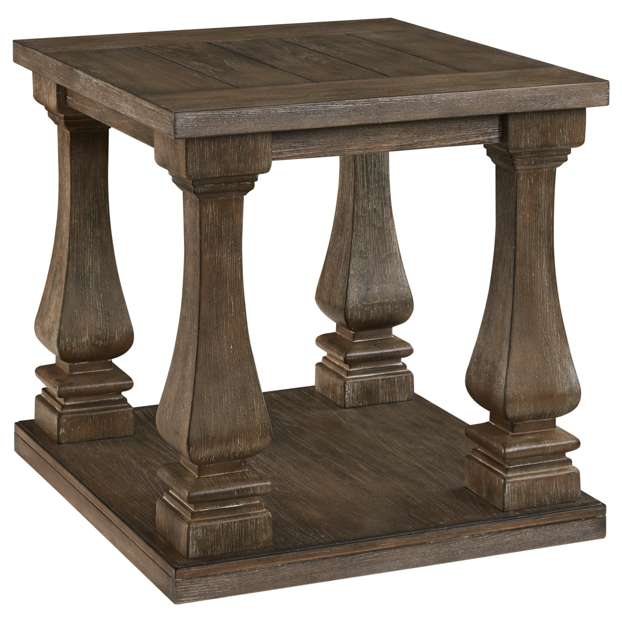 Johnelle Rectangular End Table by Signature Design by Ashley at Beck's Furniture
