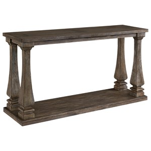 Transitional Sofa Table
