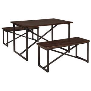 Signature Design by Ashley Joring Rectangular Dining Room Table Set