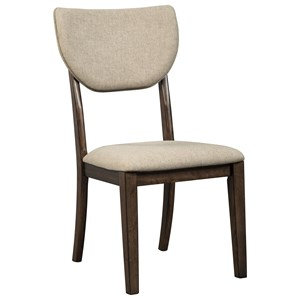 Contemporary Dining Upholstered Side Chair