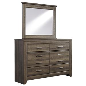 6-Drawer Youth Dresser & Mirror