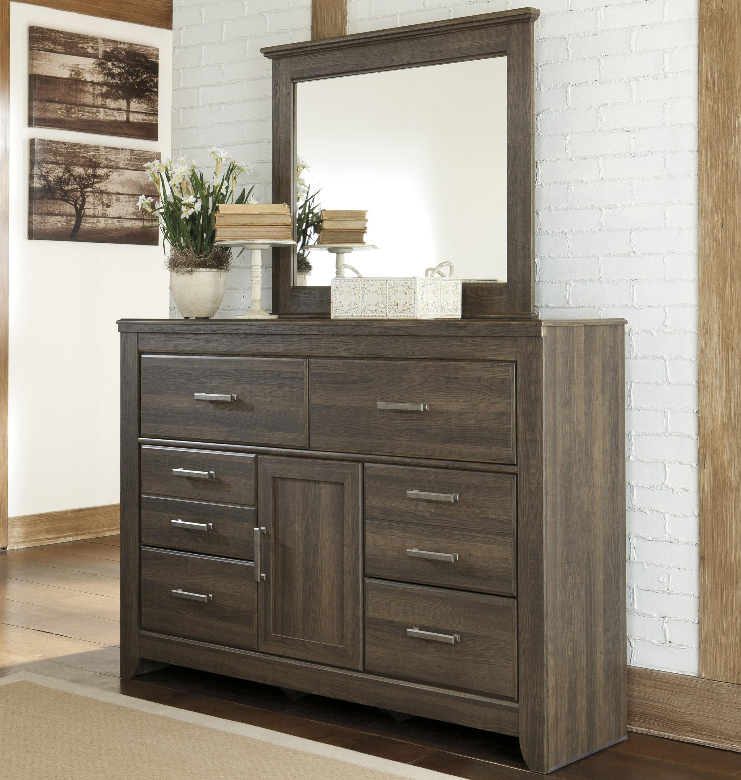 Juararo Dresser and Mirror Set by Ashley (Signature Design) at Johnny Janosik