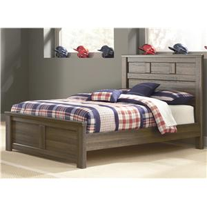 Transitional Full Panel Bed