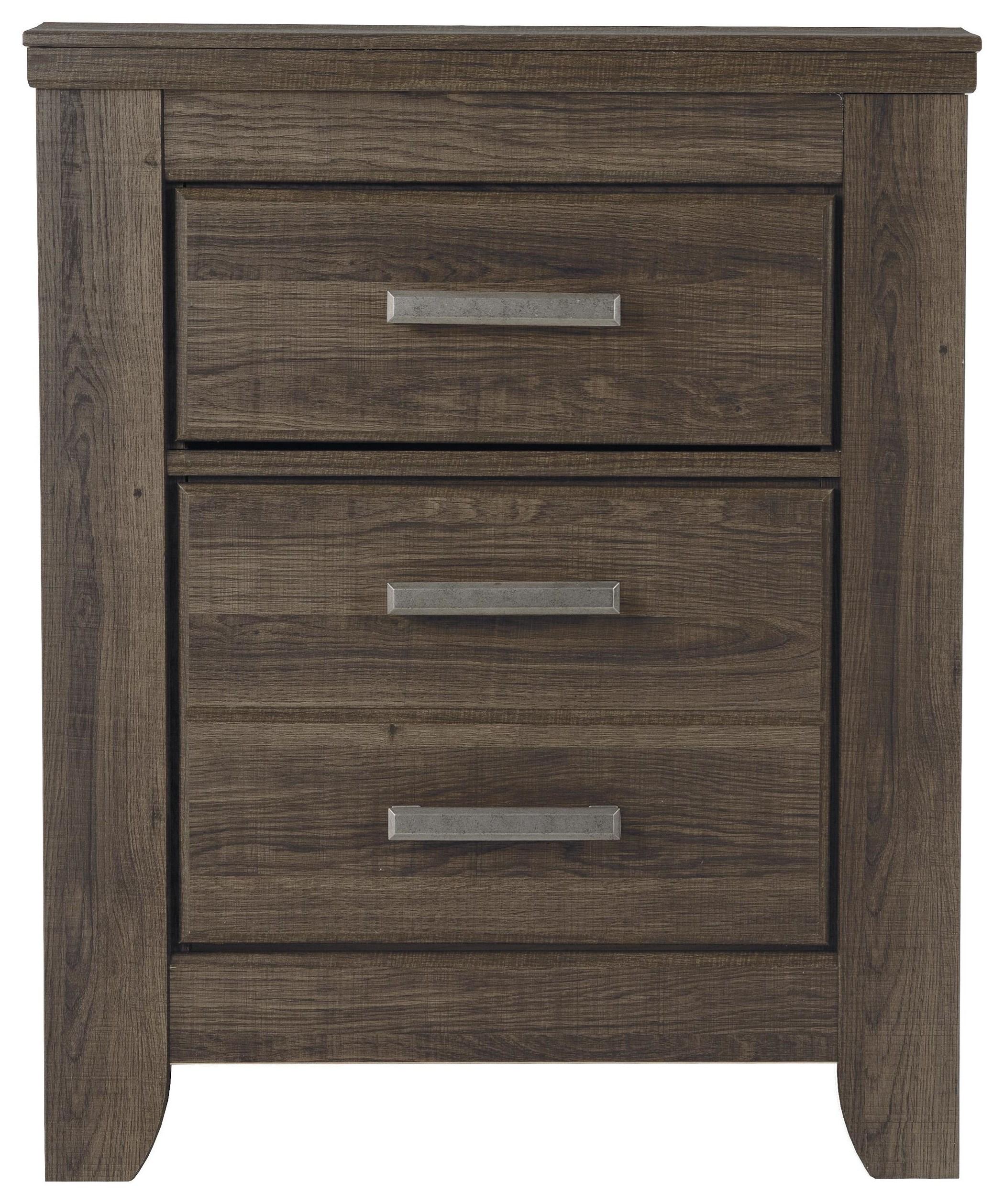 Juararo 2 Drawer Nightstand by Signature Design by Ashley at HomeWorld Furniture