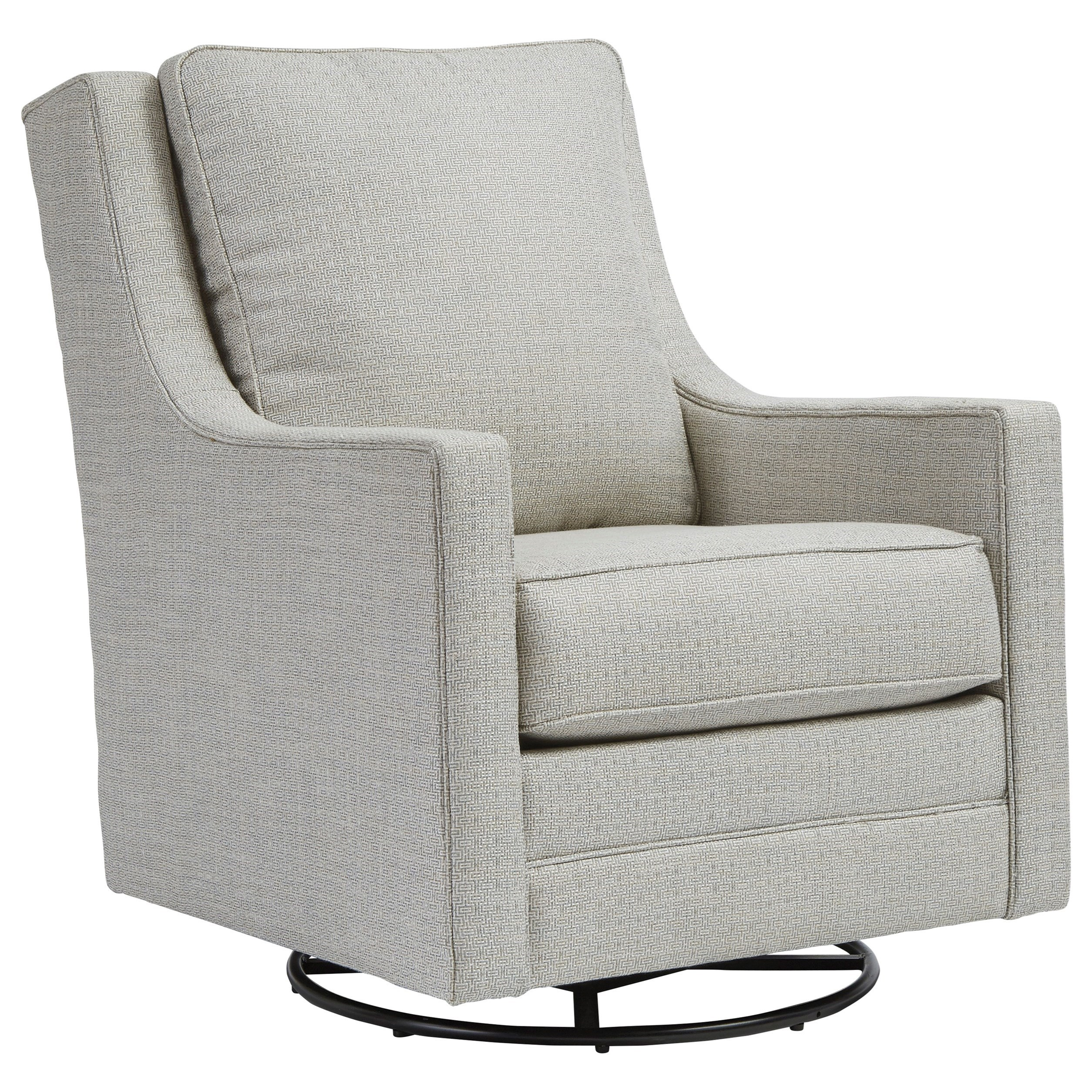 Kambria Swivel Glider Accent Chair by Signature Design by Ashley at Beds N Stuff