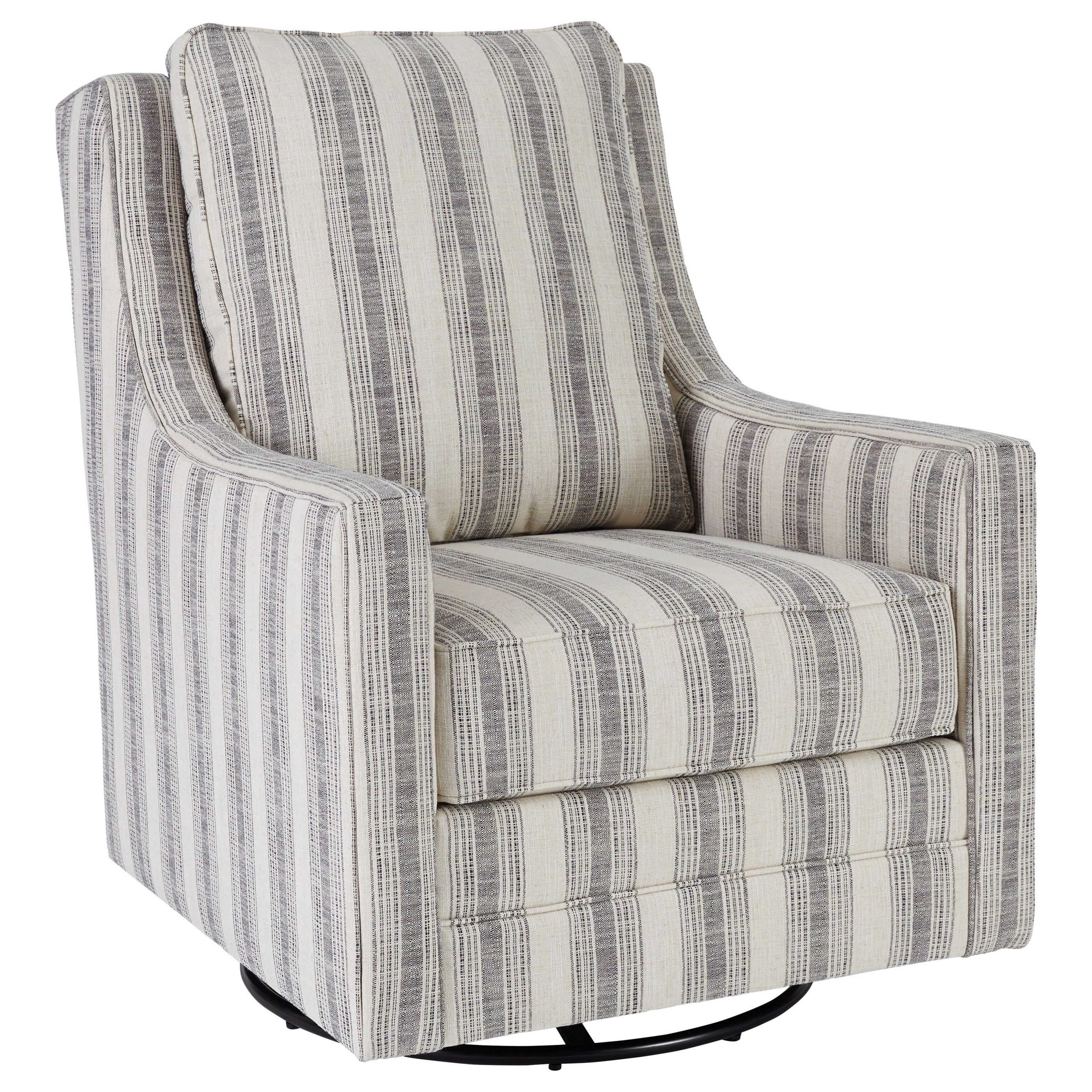 Kambria Swivel Glider Accent Chair by Signature at Walker's Furniture