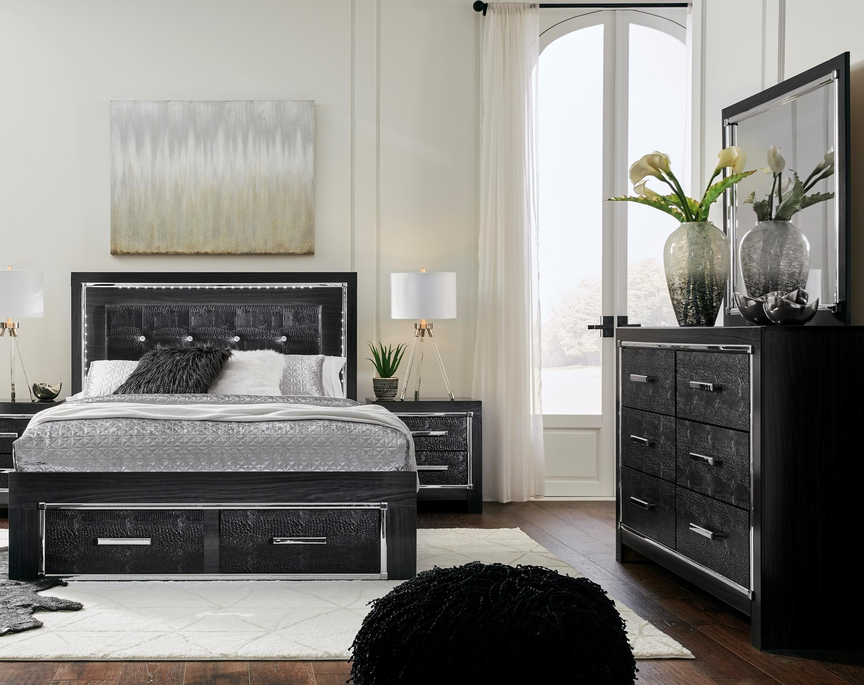 Kaydell King Bedroom Group by Signature Design by Ashley at Rife's Home Furniture