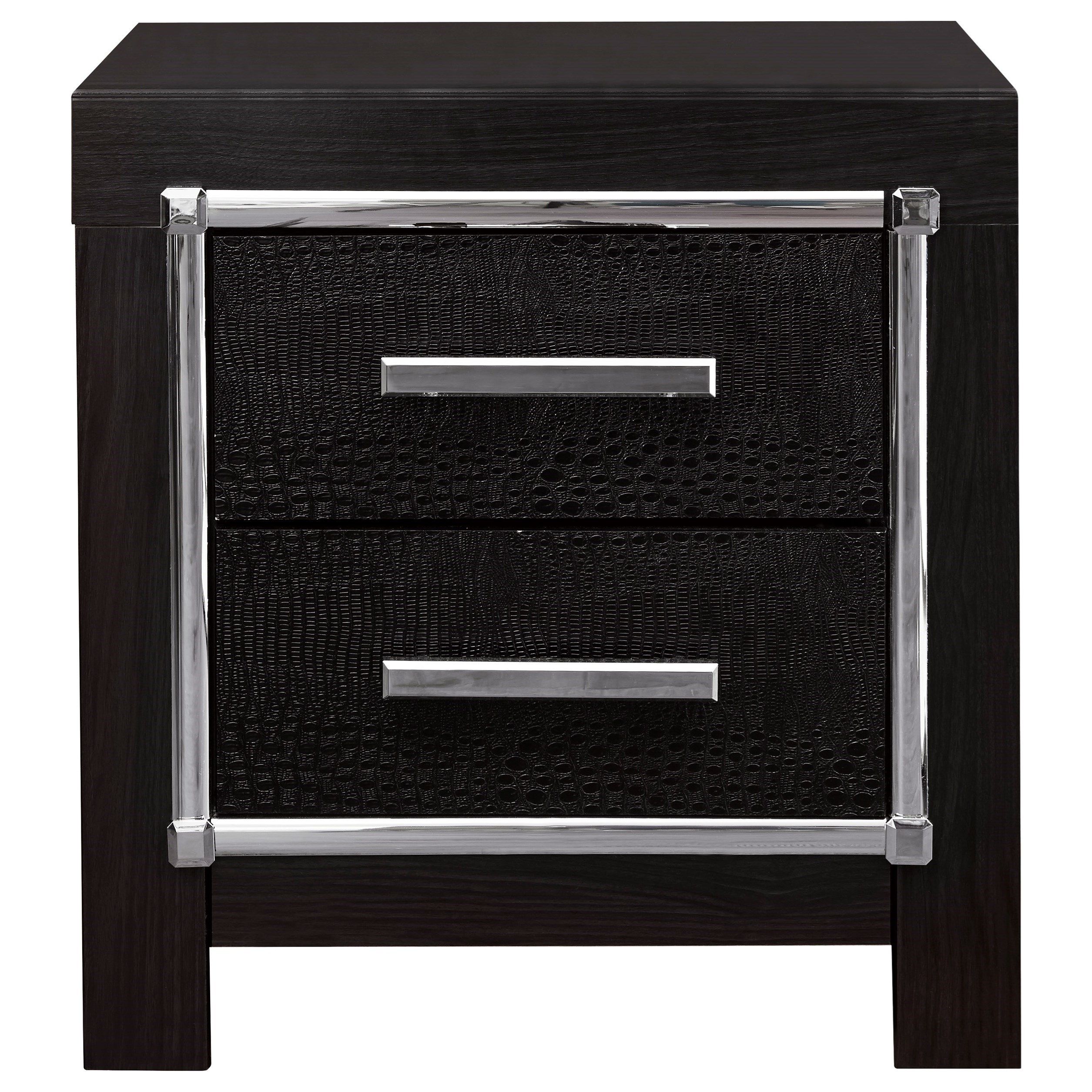 Kaydell 2-Drawer Nightstand by Ashley (Signature Design) at Johnny Janosik