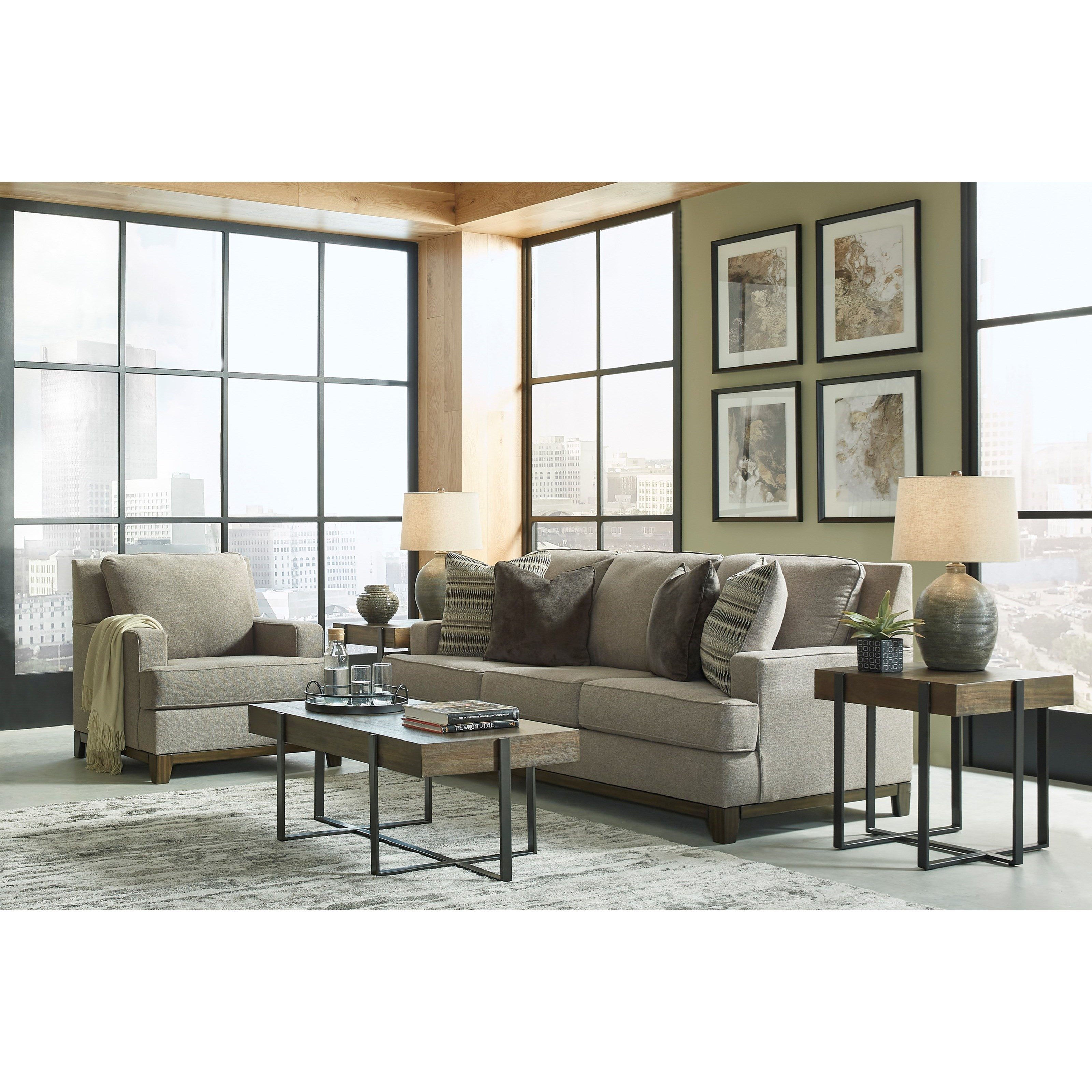 Kaywood Living Room Group by Signature Design by Ashley at Furniture Barn