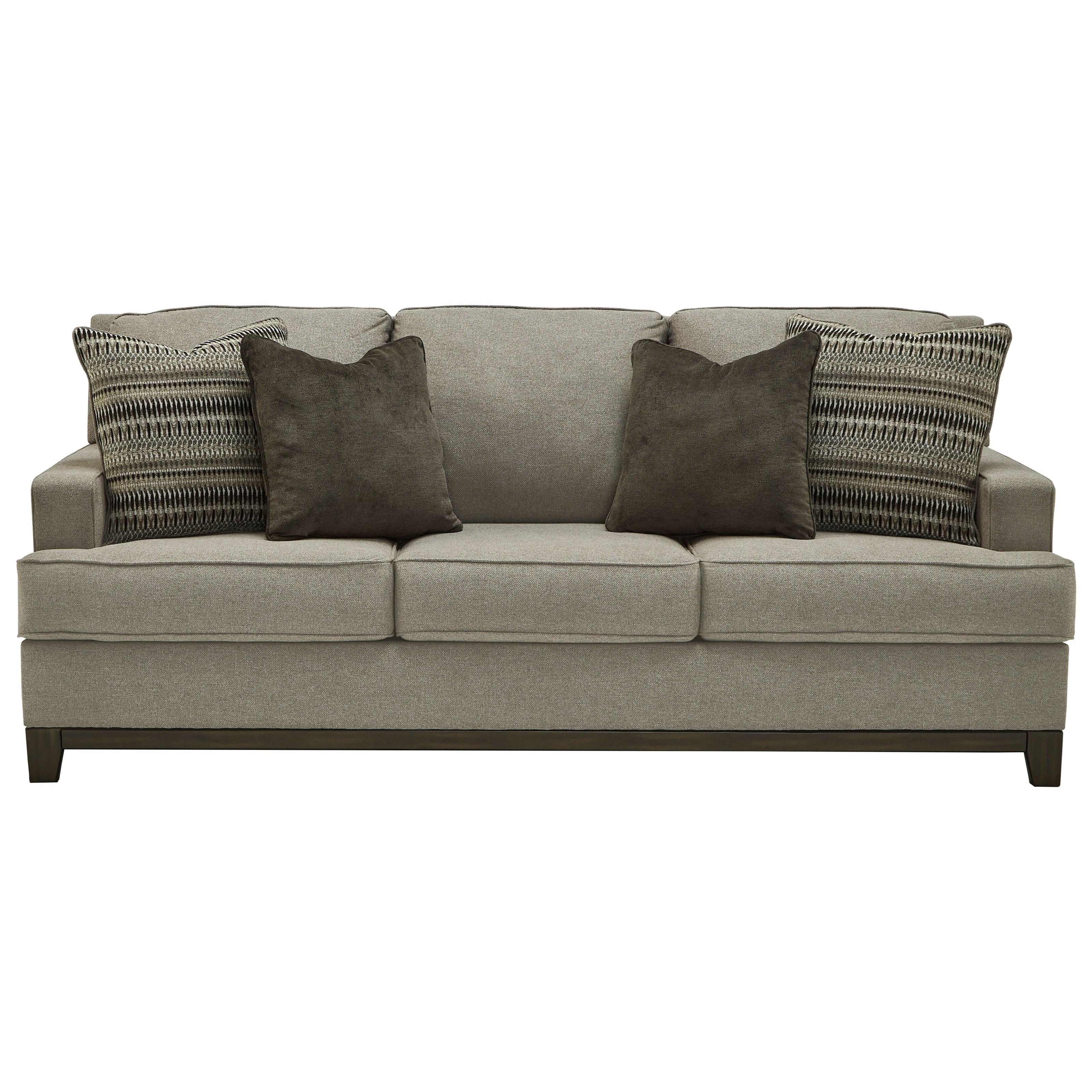 Kaywood Sofa by Signature at Walker's Furniture