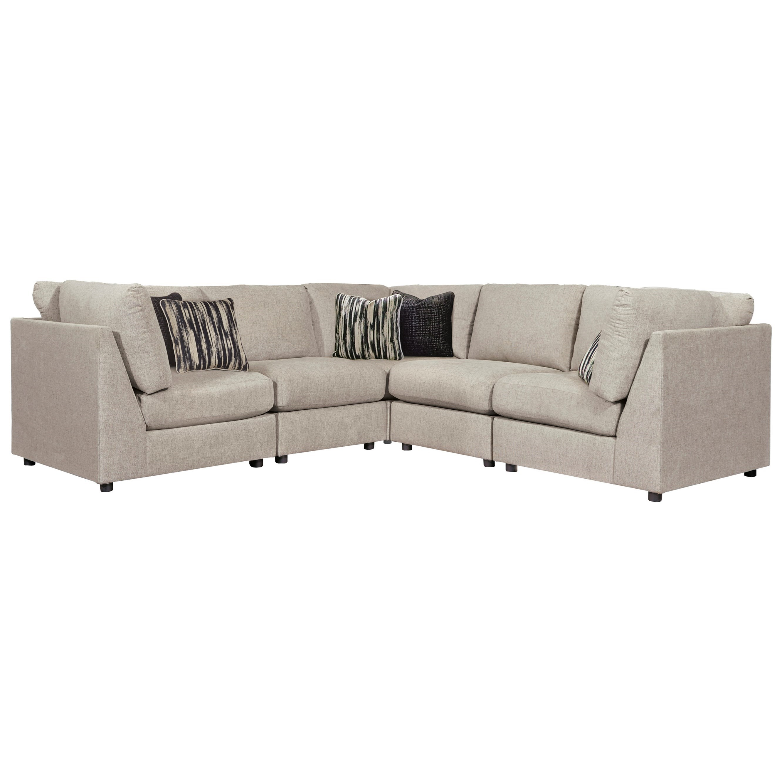Kellway 5-Piece Sectional by Signature at Walker's Furniture
